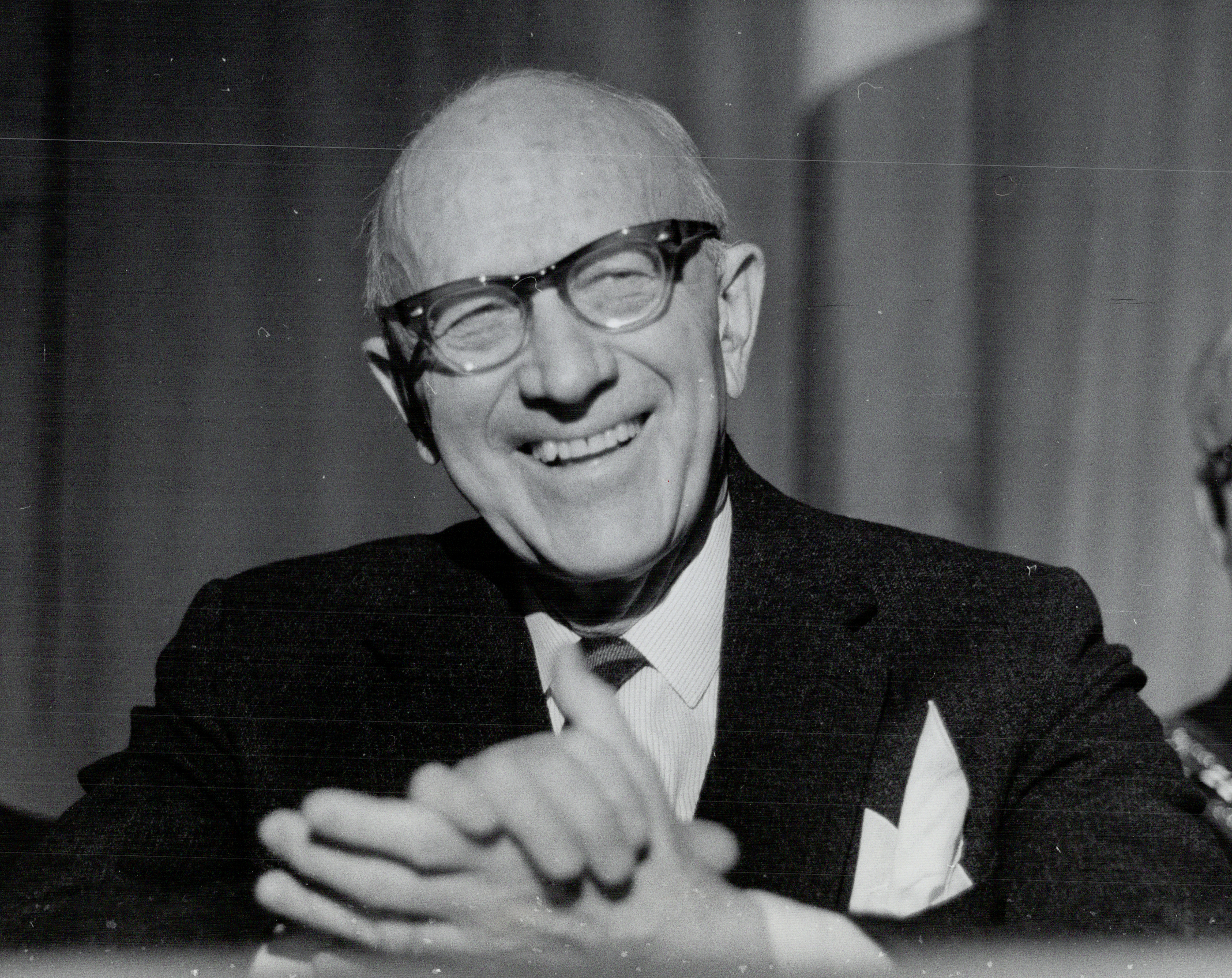Dr Wilder Penfield on March 28, 1967.