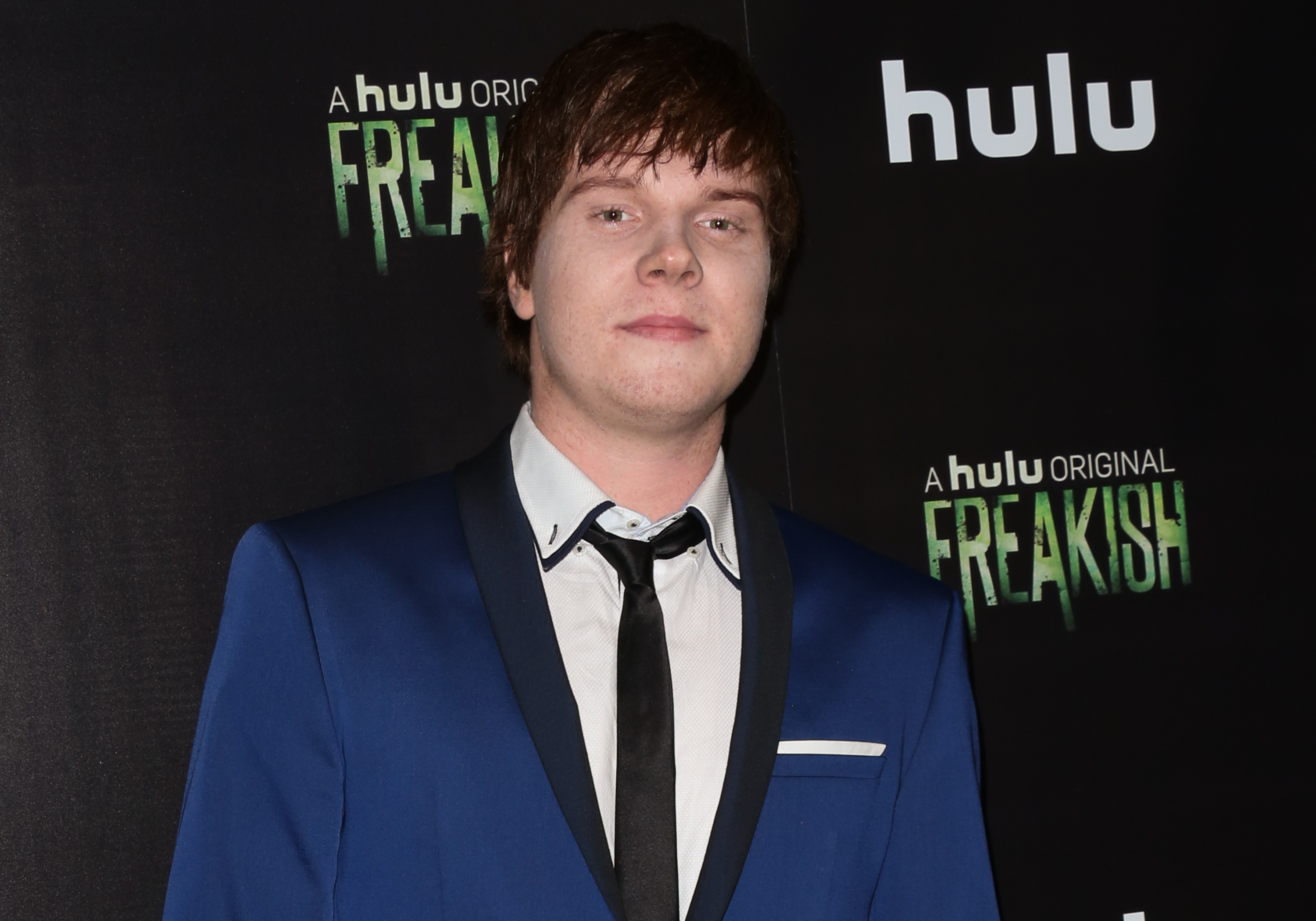 Actor Adam Hicks attends the premiere of Hulu's ''Freakish' at Smogshoppe on Oct. 5, 2016 in Los Angeles, California.