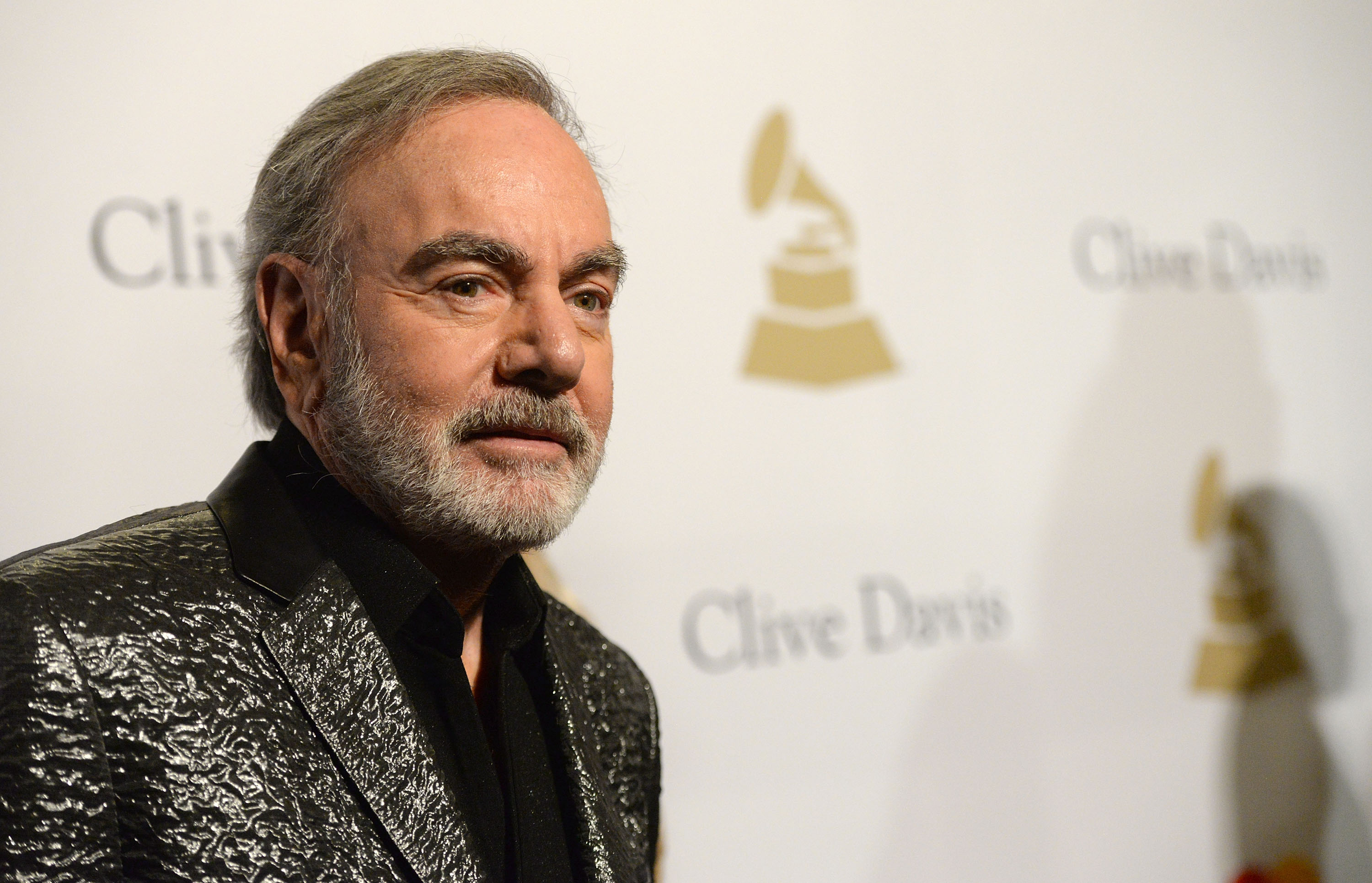 Neil Diamond attends the Clive Davis annual Pre-Grammy Gala in Beverly Hills, California on Feb. 11, 2017.