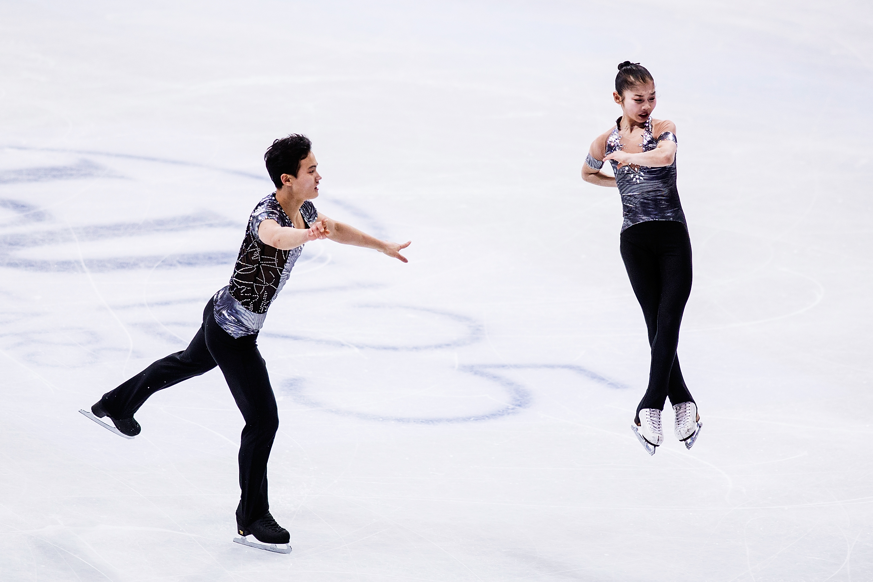Tae Ok Ryom and Ju Sik Kim of North Korea compete in the Pairs Short Program during day one of the World Figure Skating Championships at Hartwall Arena on March 29, 2017 in Helsinki, Finland.