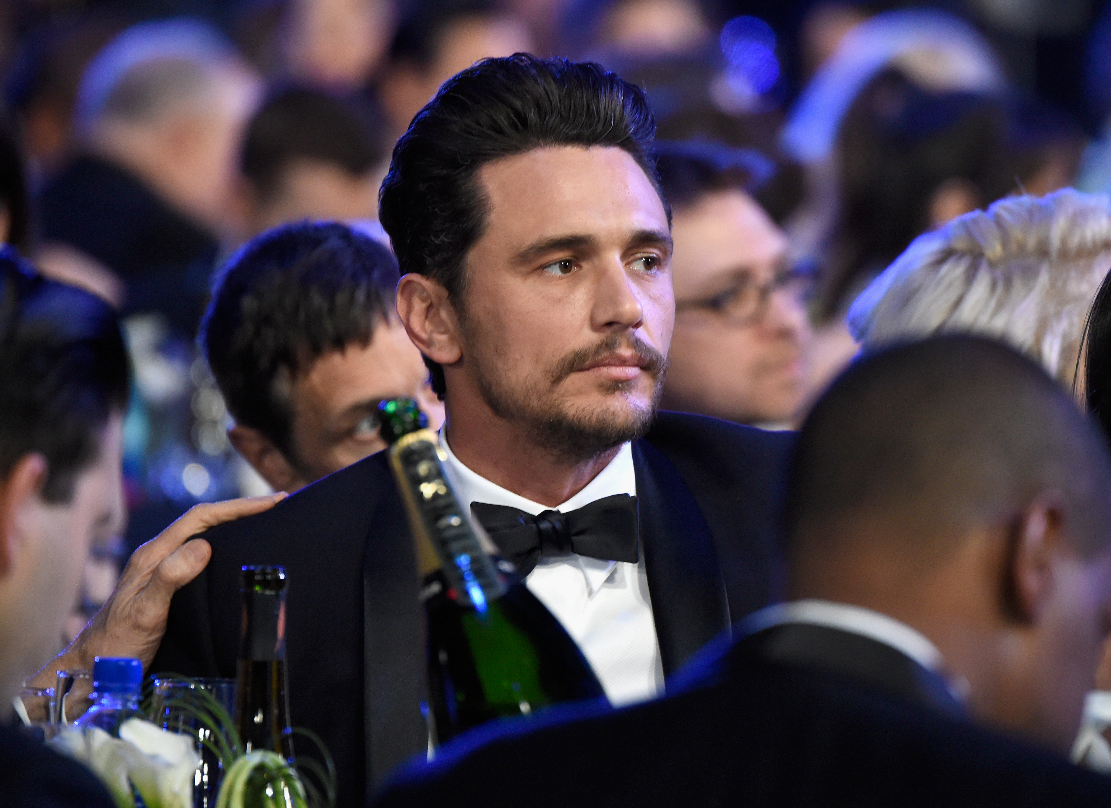 Actor James Franco attends the 24th Annual Screen Actors Guild Awards at The Shrine Auditorium on January 21, 2018 in Los Angeles.