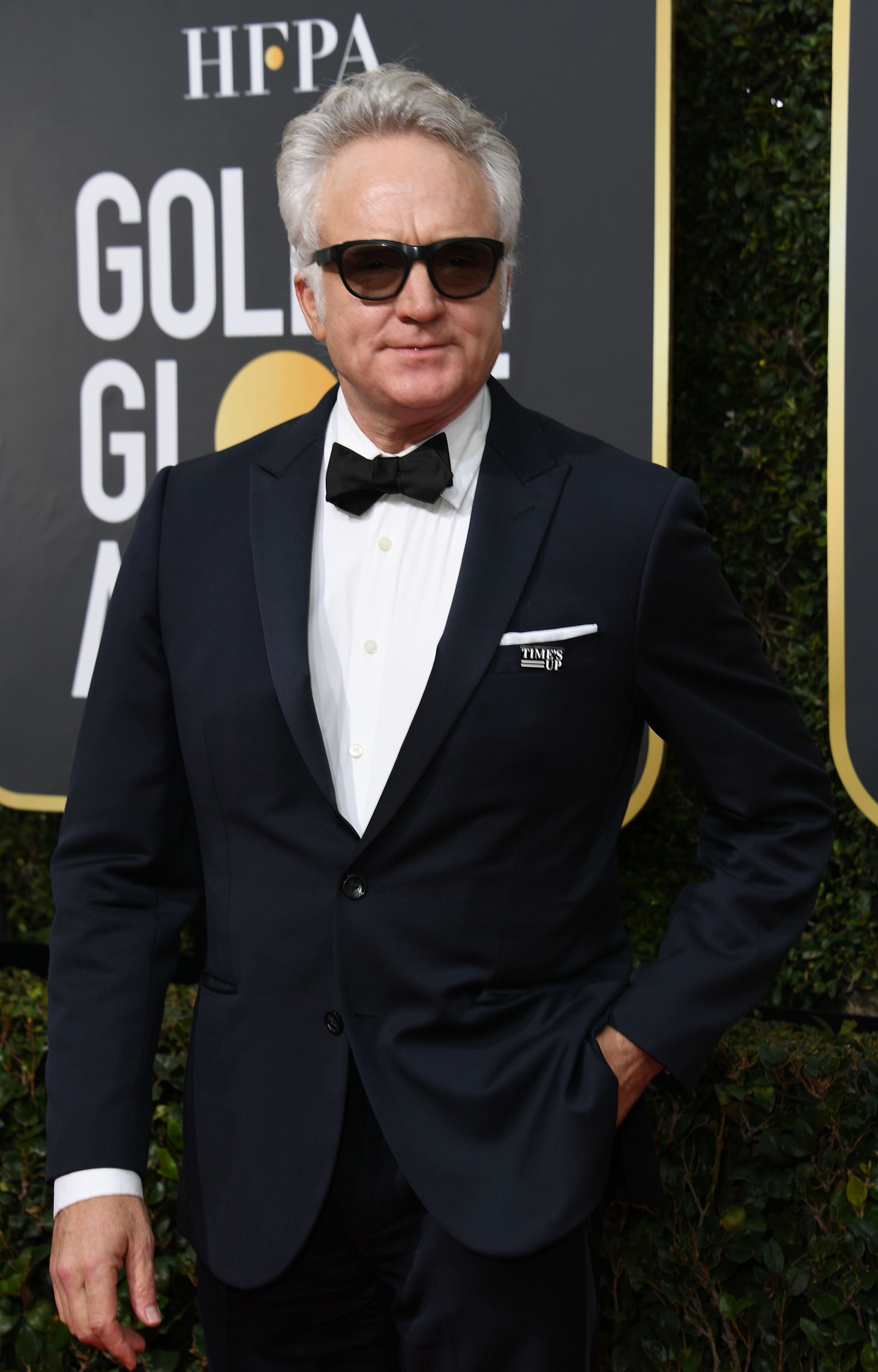 Actor Bradley Whitford arrives for the 75th Golden Globe Awards on January 7, 2018, in Beverly Hills, California.