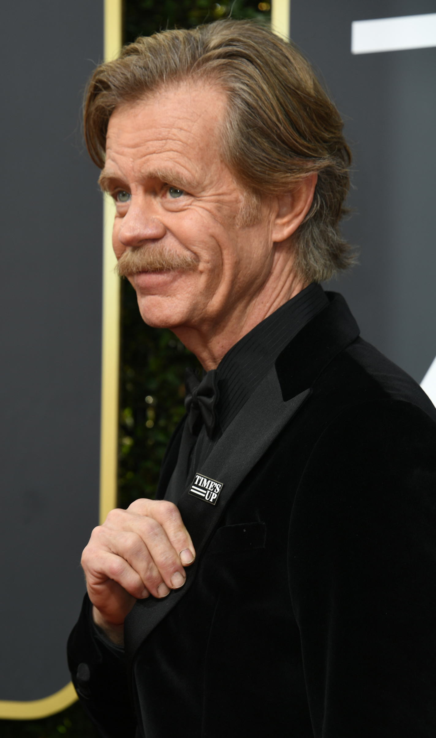 Actor William H. Macy arrives for the 75th Golden Globe Awards on January 7, 2018, in Beverly Hills, California.