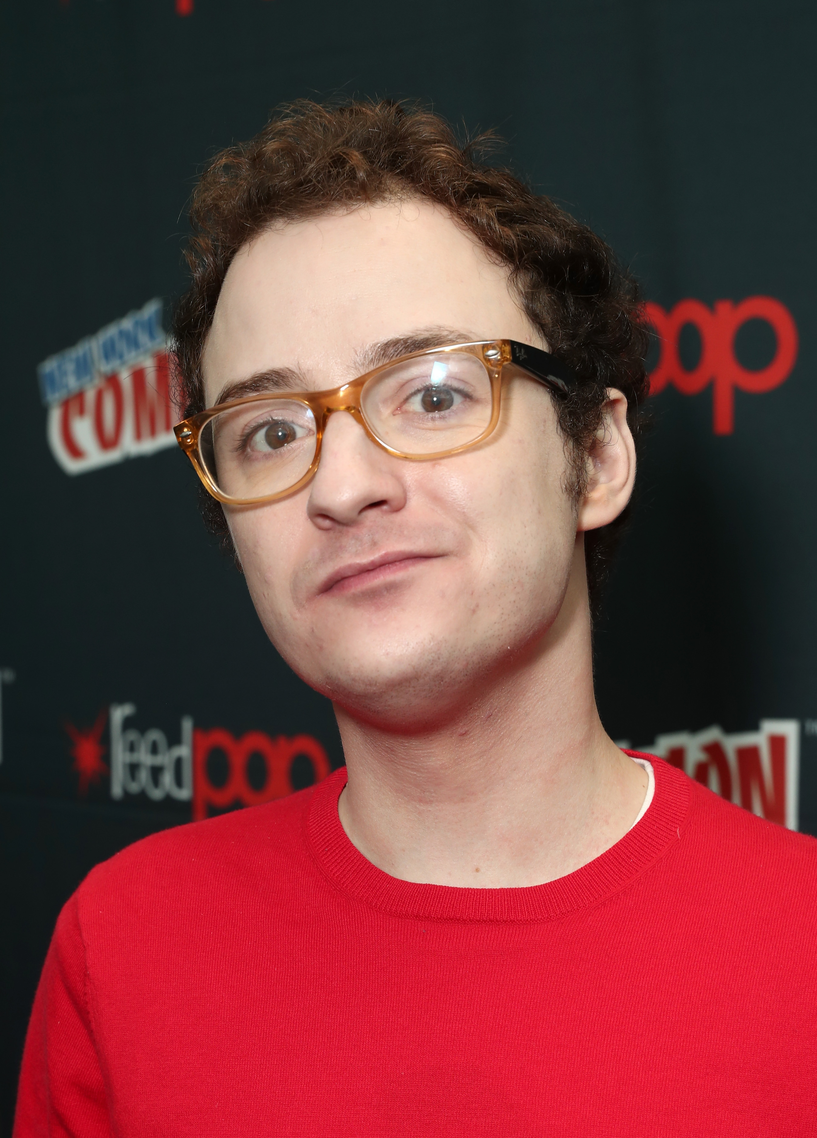 Griffin Newman attends Amazon Prime Video's The Tick New York Comic Con 2017 - Press Room at The Jacob K. Javits Convention Center on October 7, 2017 in New York City. (Photo by Todd Williamson/Getty Images for Amazon)