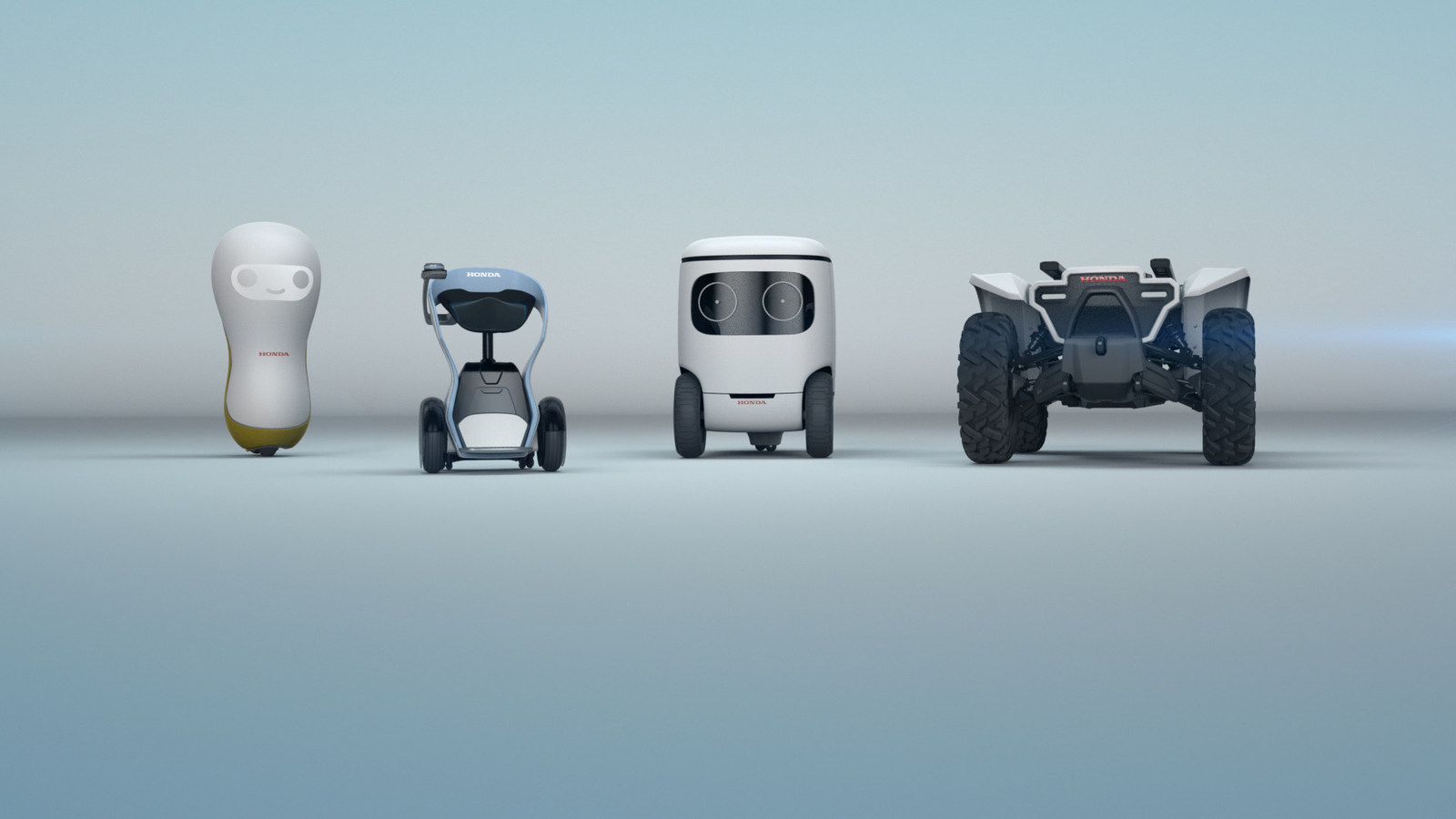 At CES 2018, Honda will unveil its new 3E (Empower, Experience, Empathy) Robotics Concept, demonstrating Honda's vision of a society where robotics and AI can assist people in a multitude of situations, from disaster recovery and recreation to learning from human interaction to become more helpful and empathetic. (PRNewsfoto/Honda)