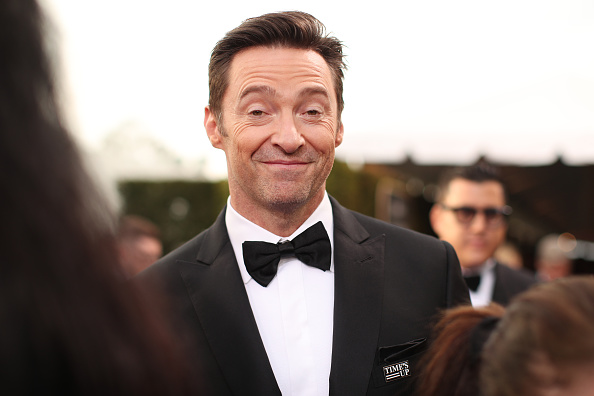 Actor Hugh Jackman arrives to the 75th Annual Golden Globe Awards held at the Beverly Hilton Hotel on January 7, 2018.