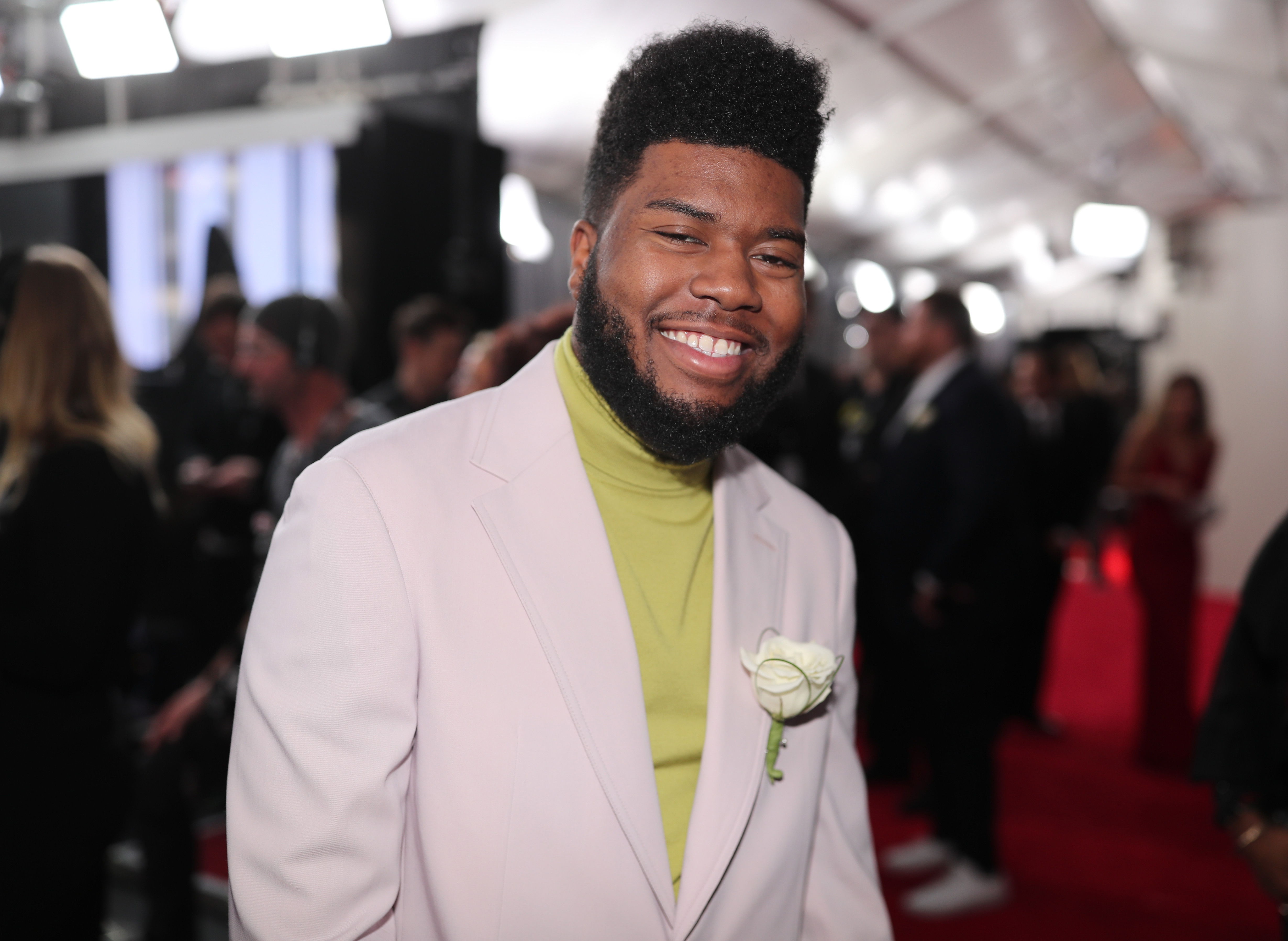 Recording artist Khalid attends the 60th Annual GRAMMY Awards at Madison Square Garden on January 28, 2018 in New York City.