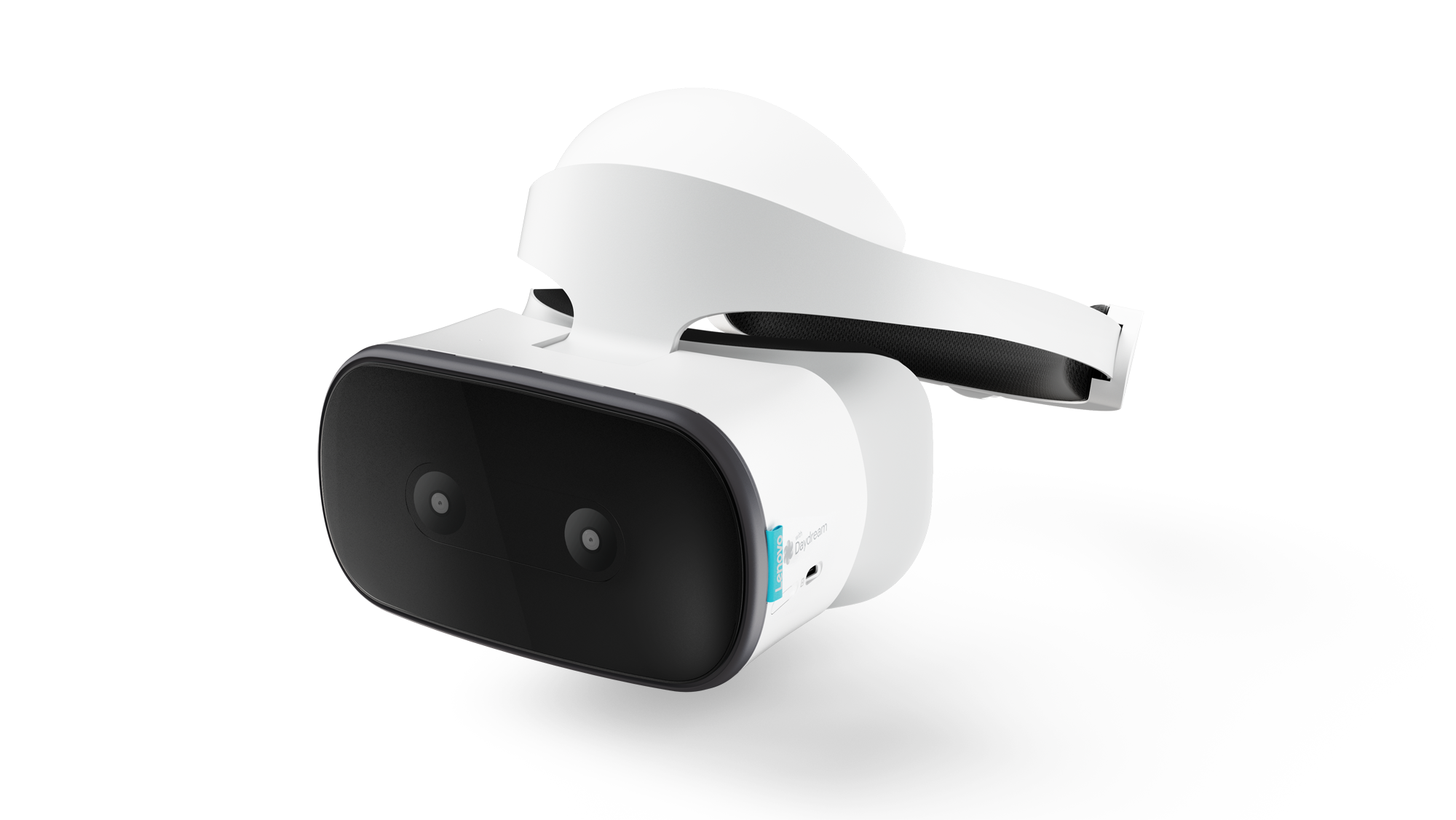 The Lenovo Mirage virtual reality headset