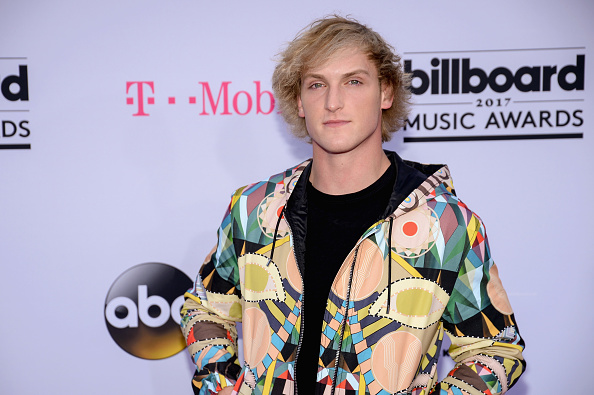 Logan Paul attends the 2017 Billboard Music Awards at T-Mobile Arena on May 21, 2017 in Las Vegas, Nevada.