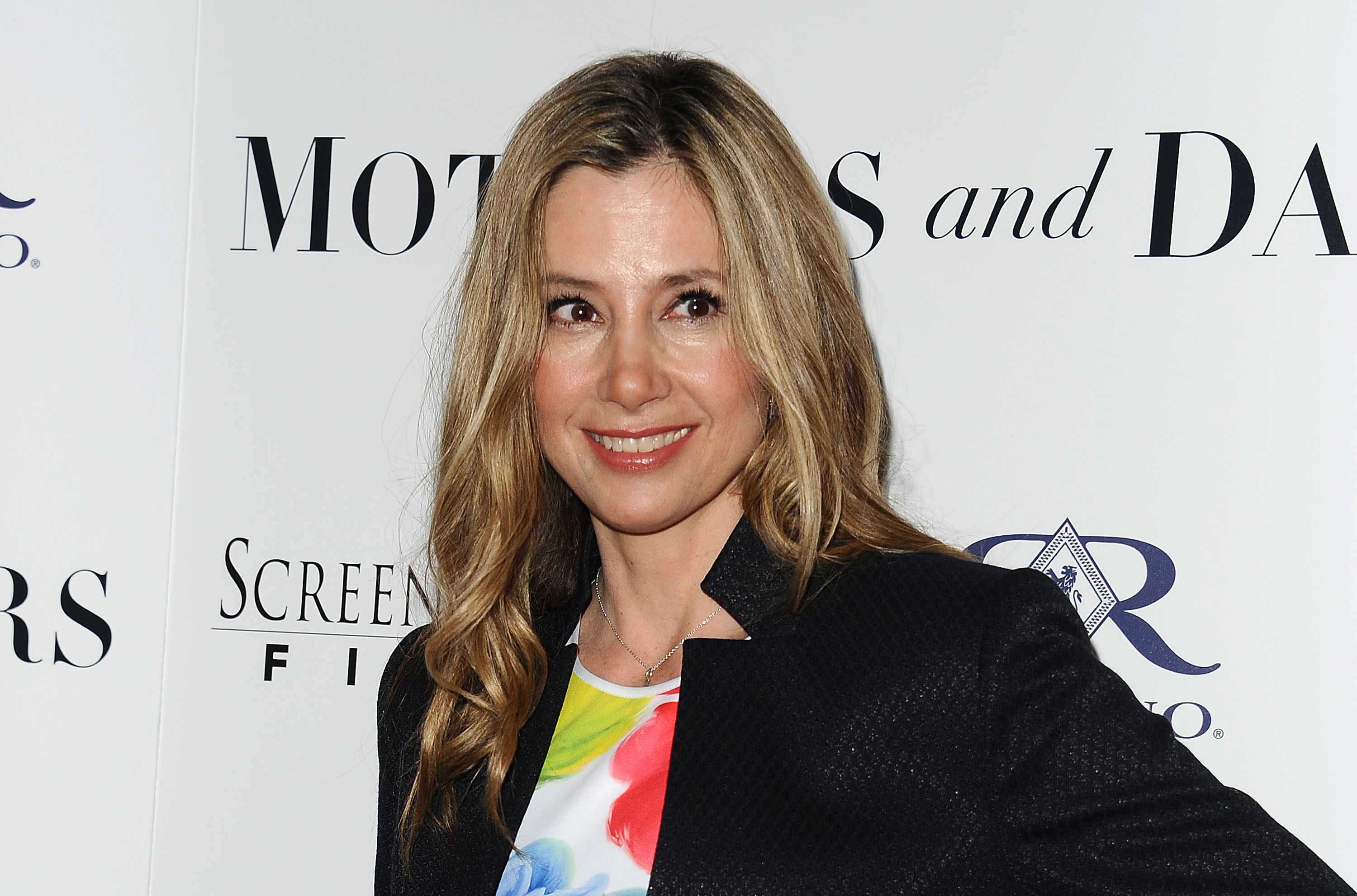 Actress Mira Sorvino attends the premiere of  Mothers and Daughters  at The London on April 28, 2016 in West Hollywood, California.