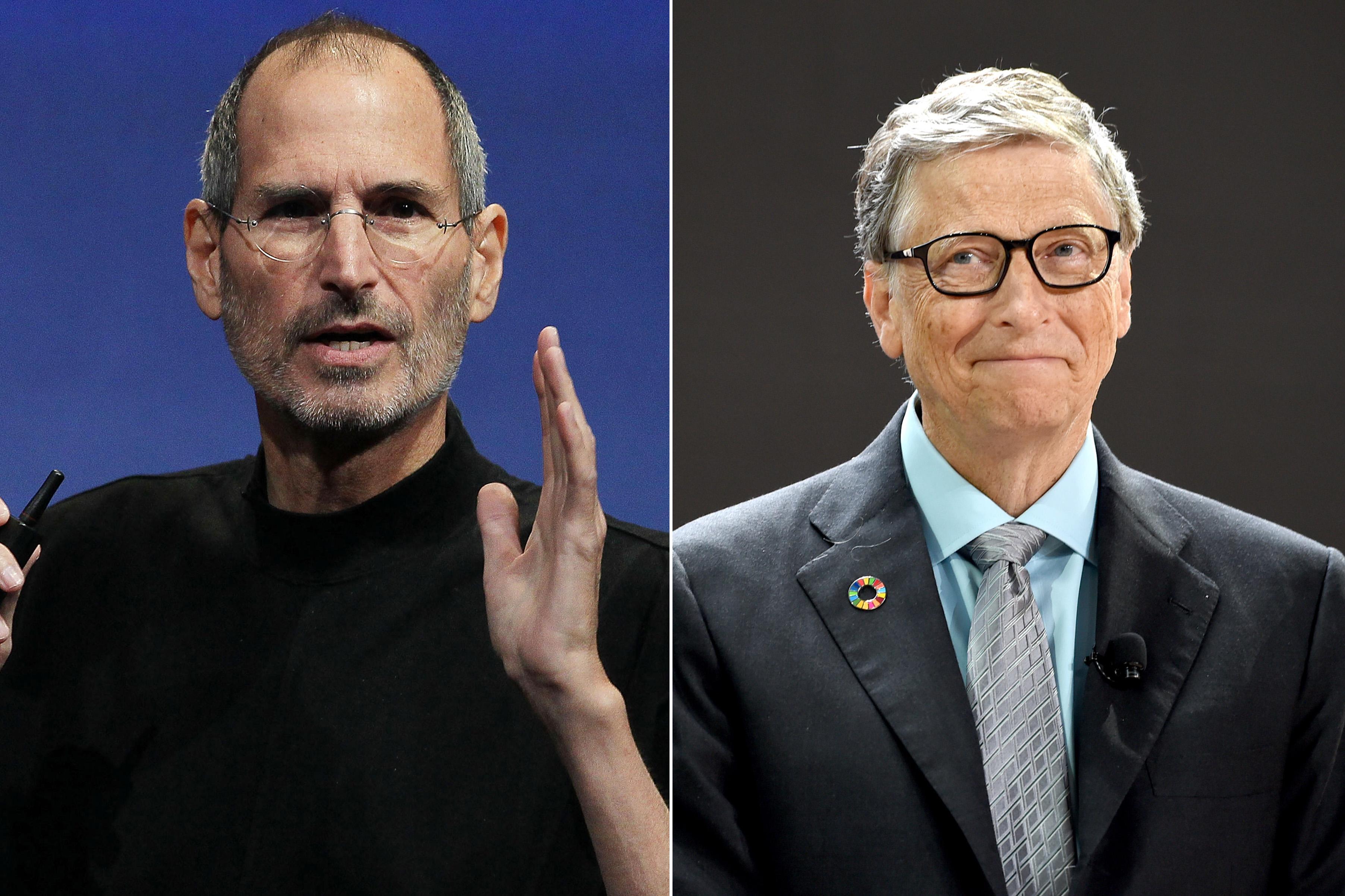 أشهر الشخصيات التقنية steve jobs vs bill gates