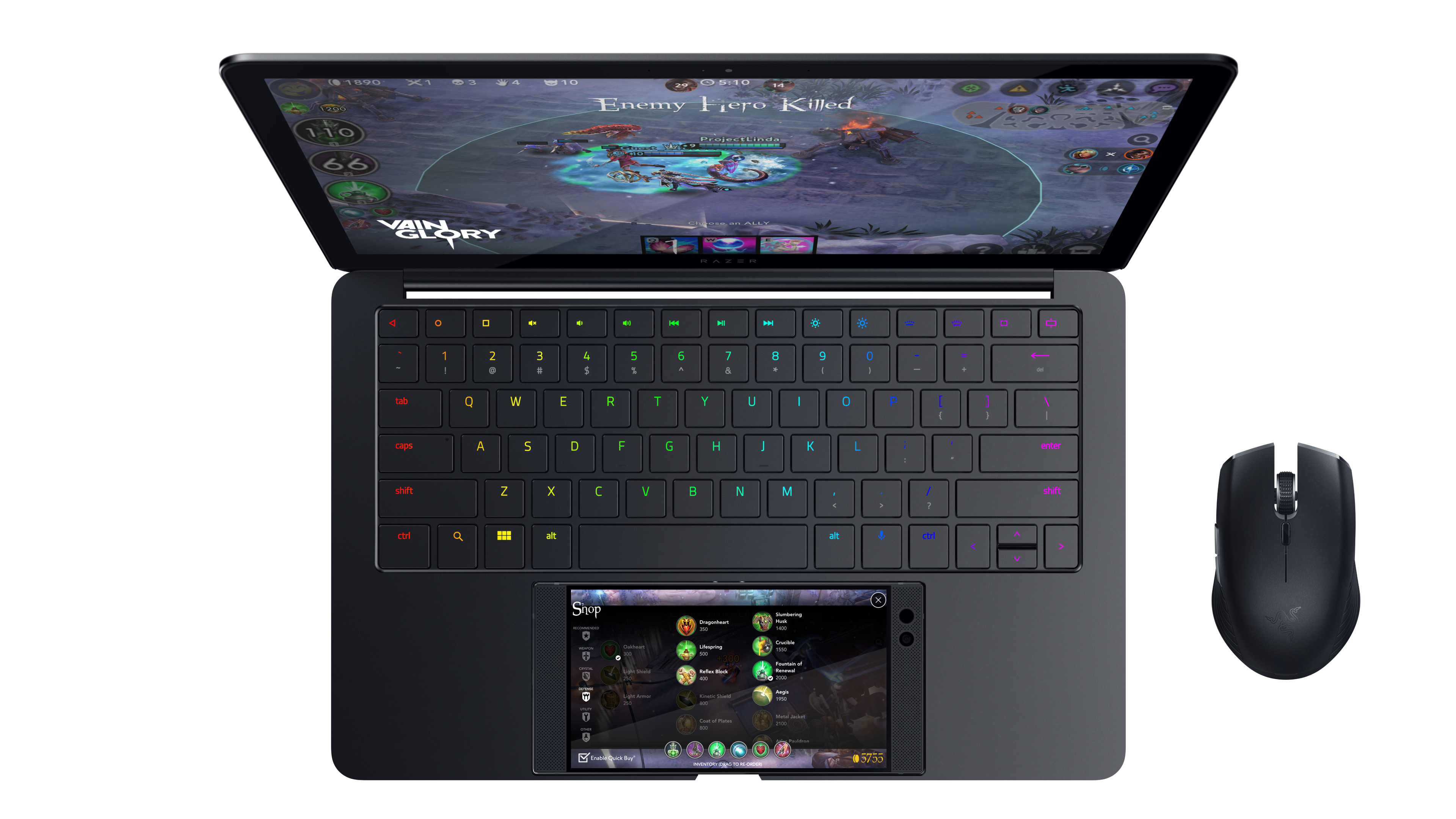 Razer's Project Linda concept uses an Android phone to power a laptop