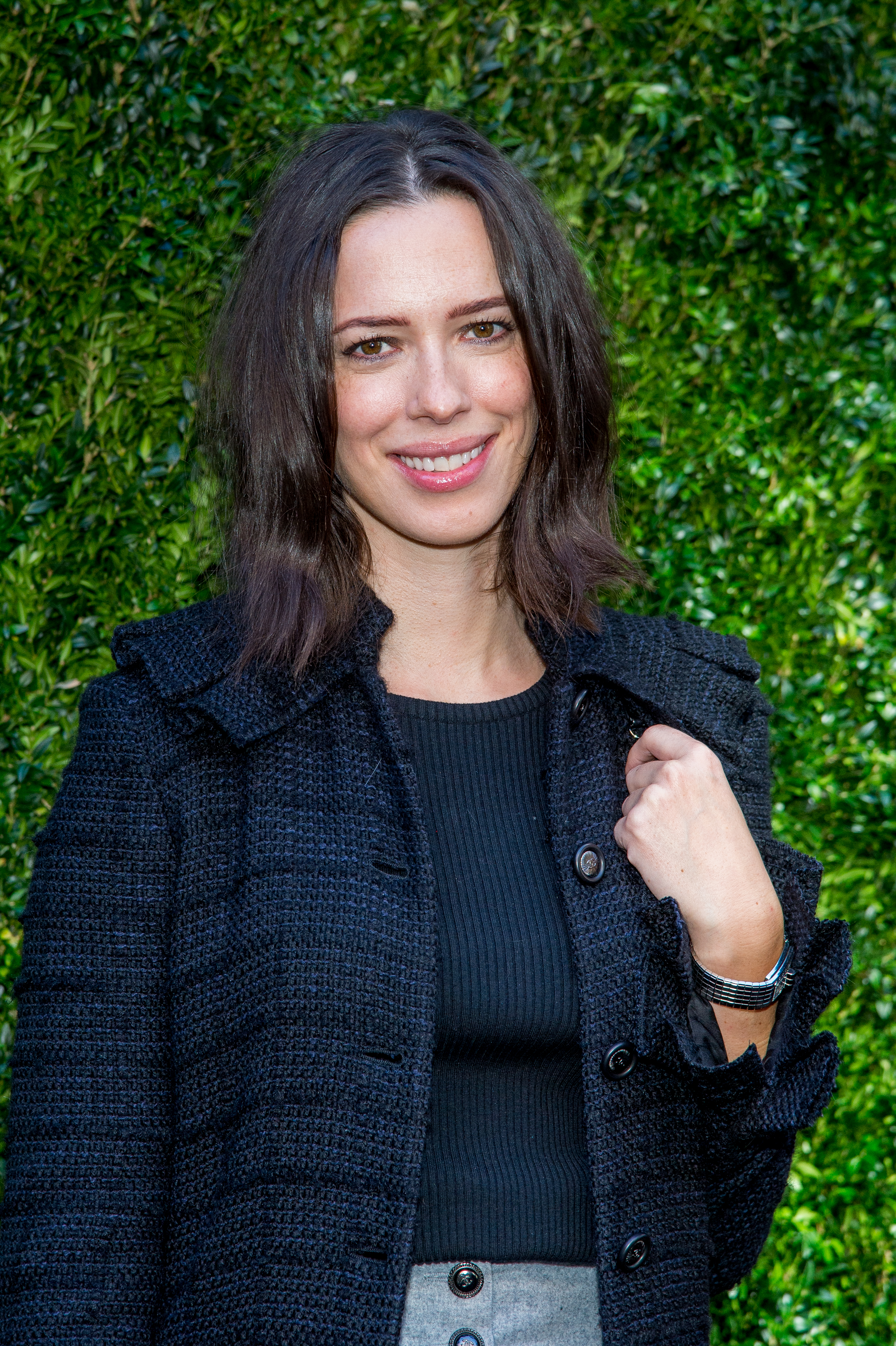 Rebecca Hall attends Through Her Lens: The Tribeca Chanel Women's Filmmaker Program Luncheon at Locanda Verde on October 17, 2017 in New York City. (Photo by Roy Rochlin/FilmMagic)