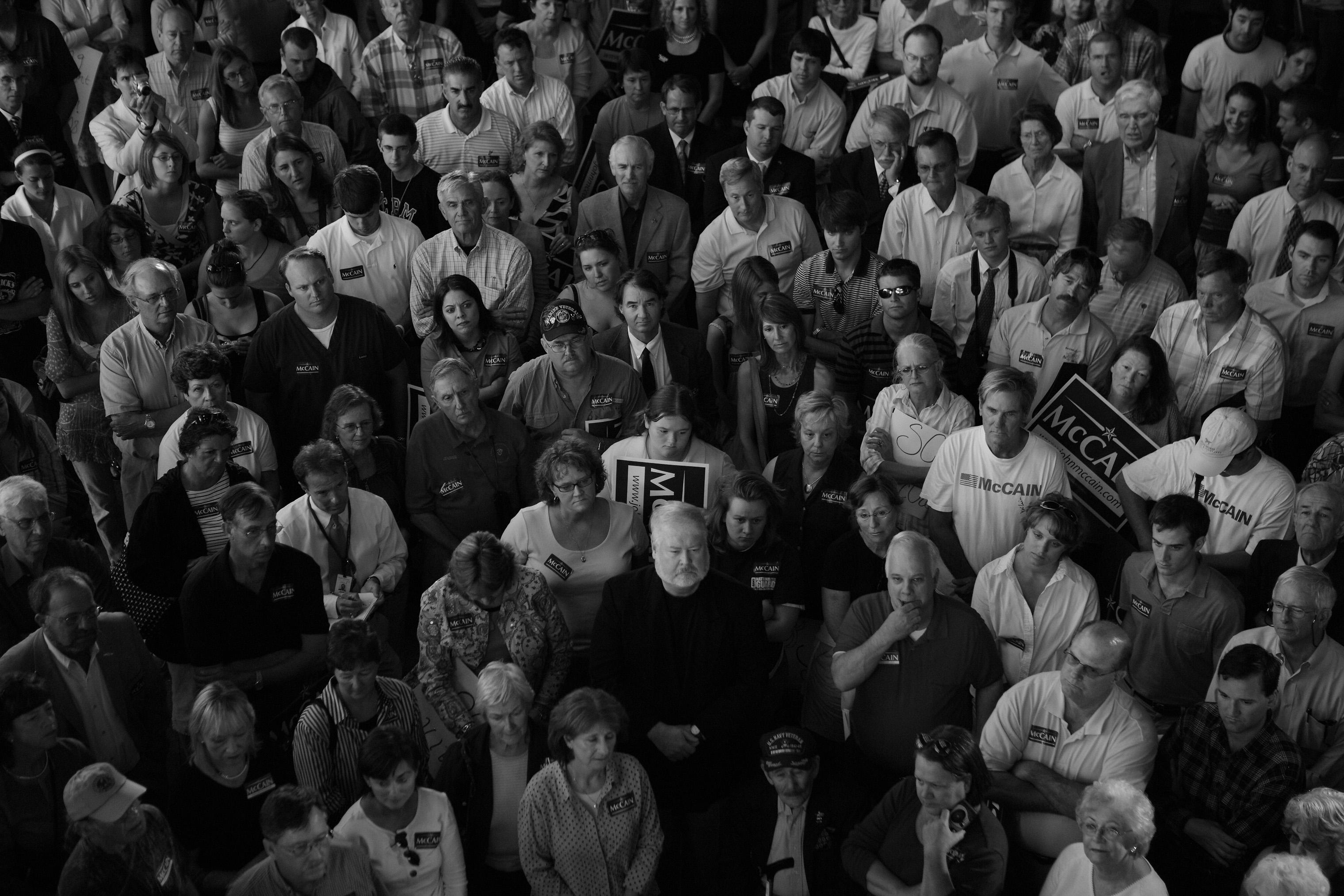 Sen. John McCain campaigns in Charleston, S.C. on April 26, 2007.