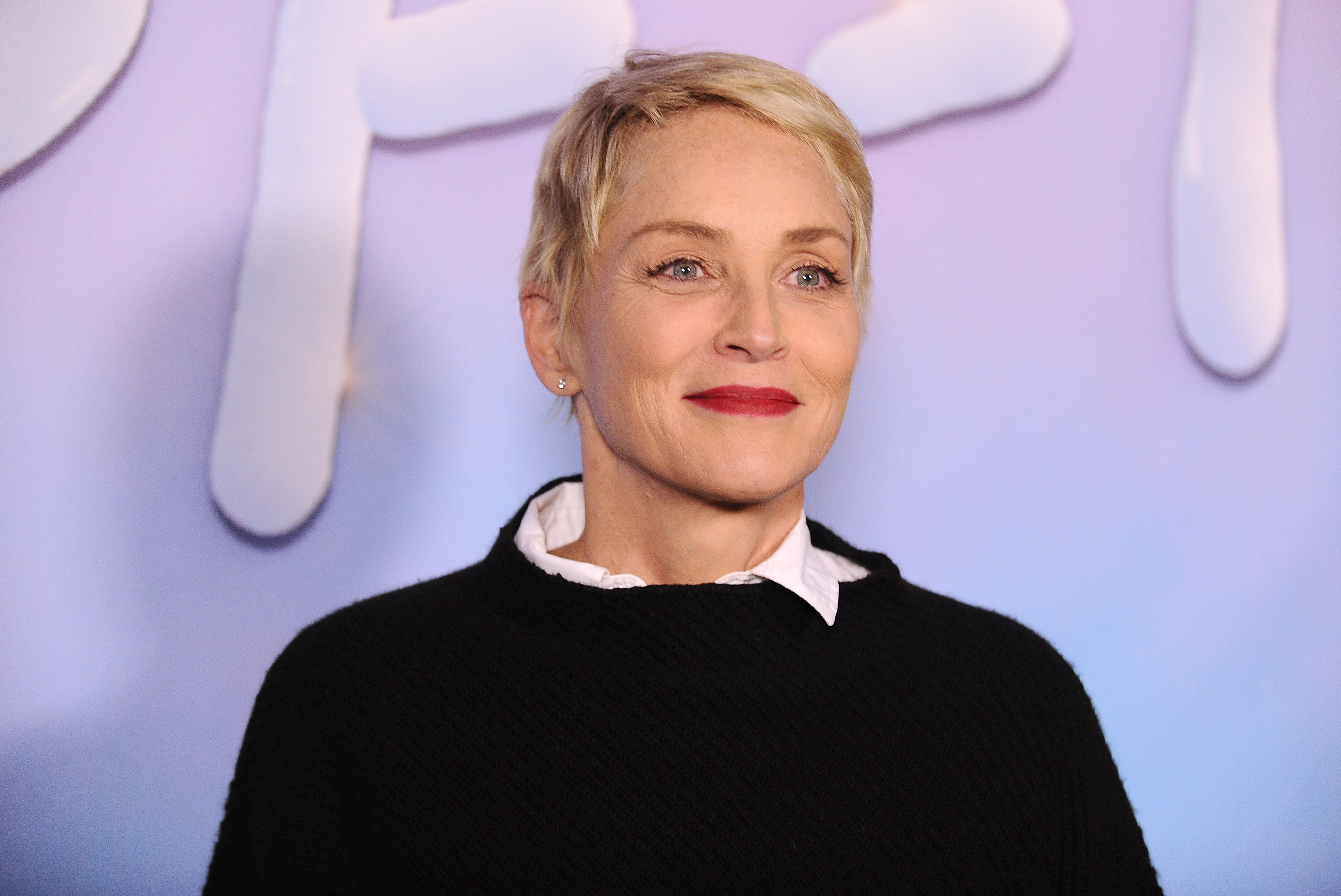 Actress Sharon Stone attends the premiere of  SPF-18  at University High School on September 21, 2017 in Los Angeles, Calif.
