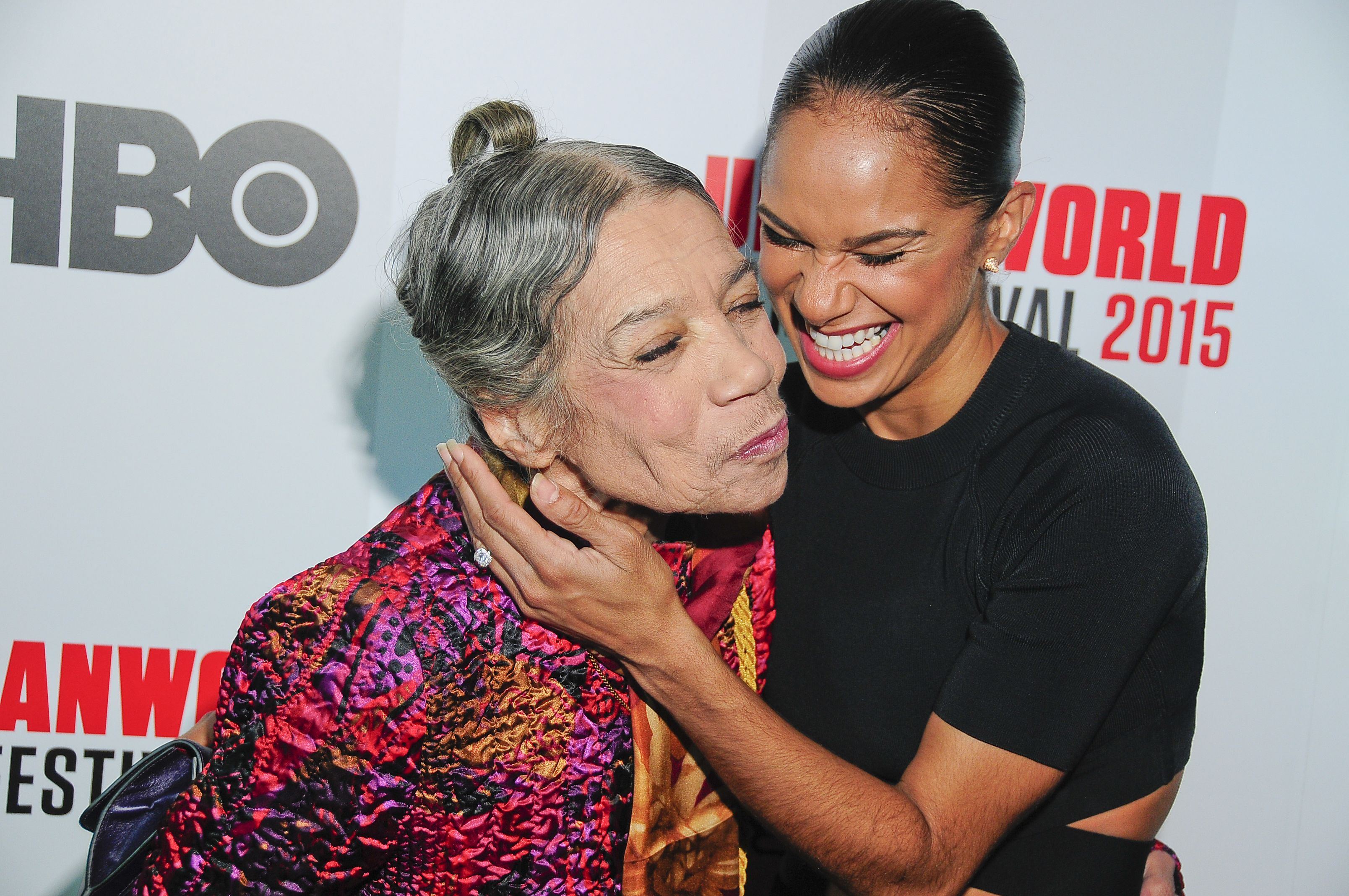 Misty Copeland (right) and Raven Wilkinson at the Urban World Film Festival in New York, NY, on Sep. 27 2015.