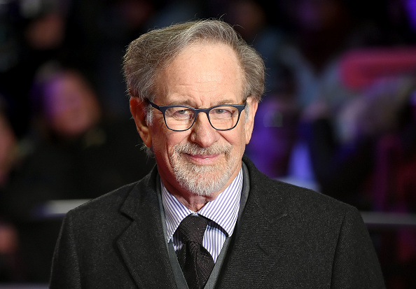 Steven Spielberg attends 'The Post' European Premeire at Odeon Leicester Square on January 10, 2018 in London, England.