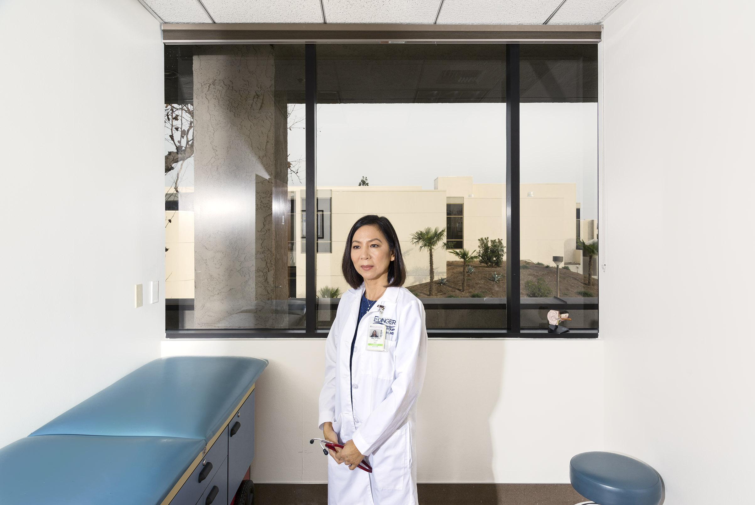 Mai Khanh Tran fled Saigon at age 9, worked through Harvard as a janitor and started her own pediatrics practice. Now she's running for California's 39th Congressional District