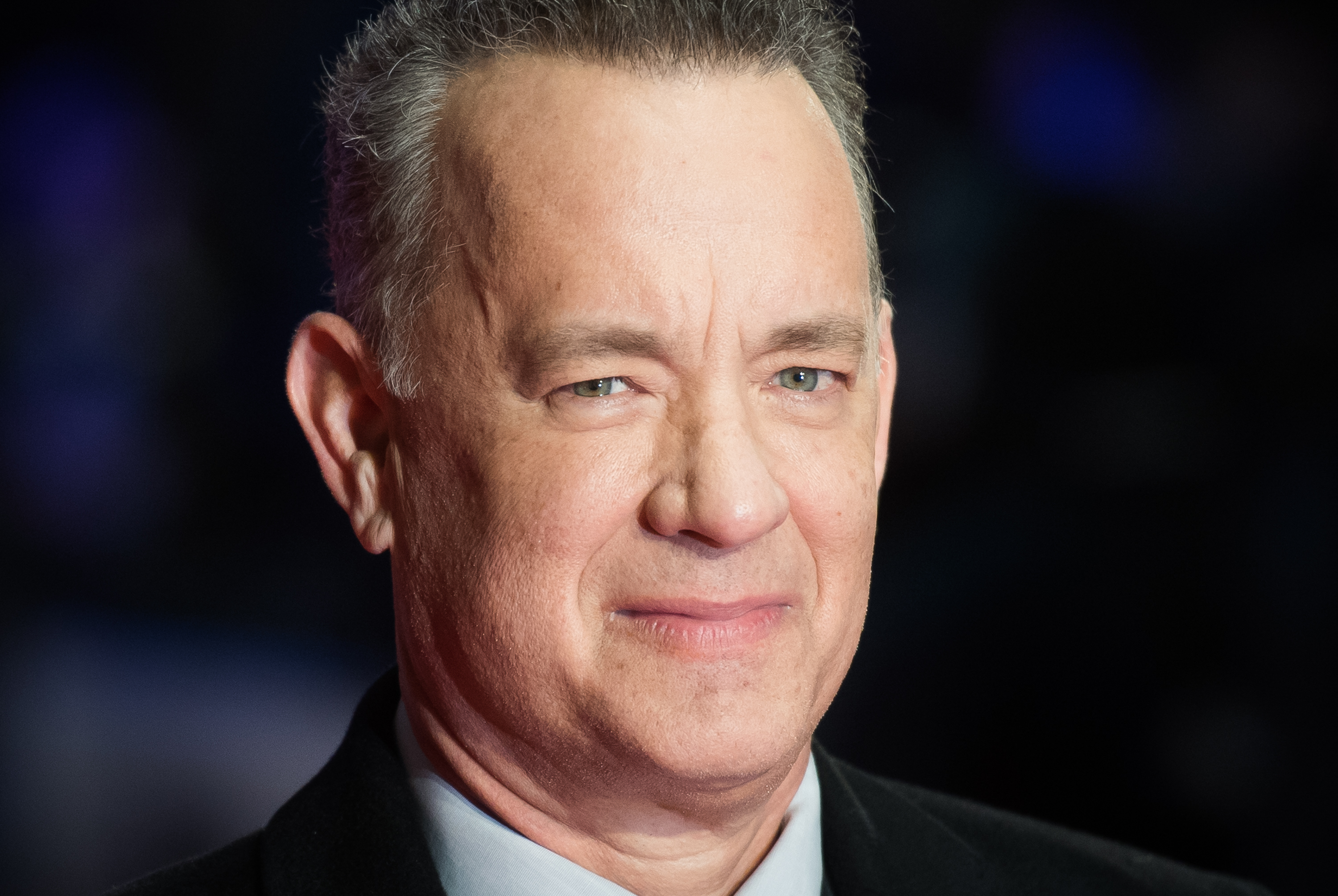 LONDON, ENGLAND - JANUARY 10:  Tom Hanks attends 'The Post' European Premeire at Odeon Leicester Square on January 10, 2018 in London, England.  (Photo by Samir Hussein/Samir Hussein/WireImage)