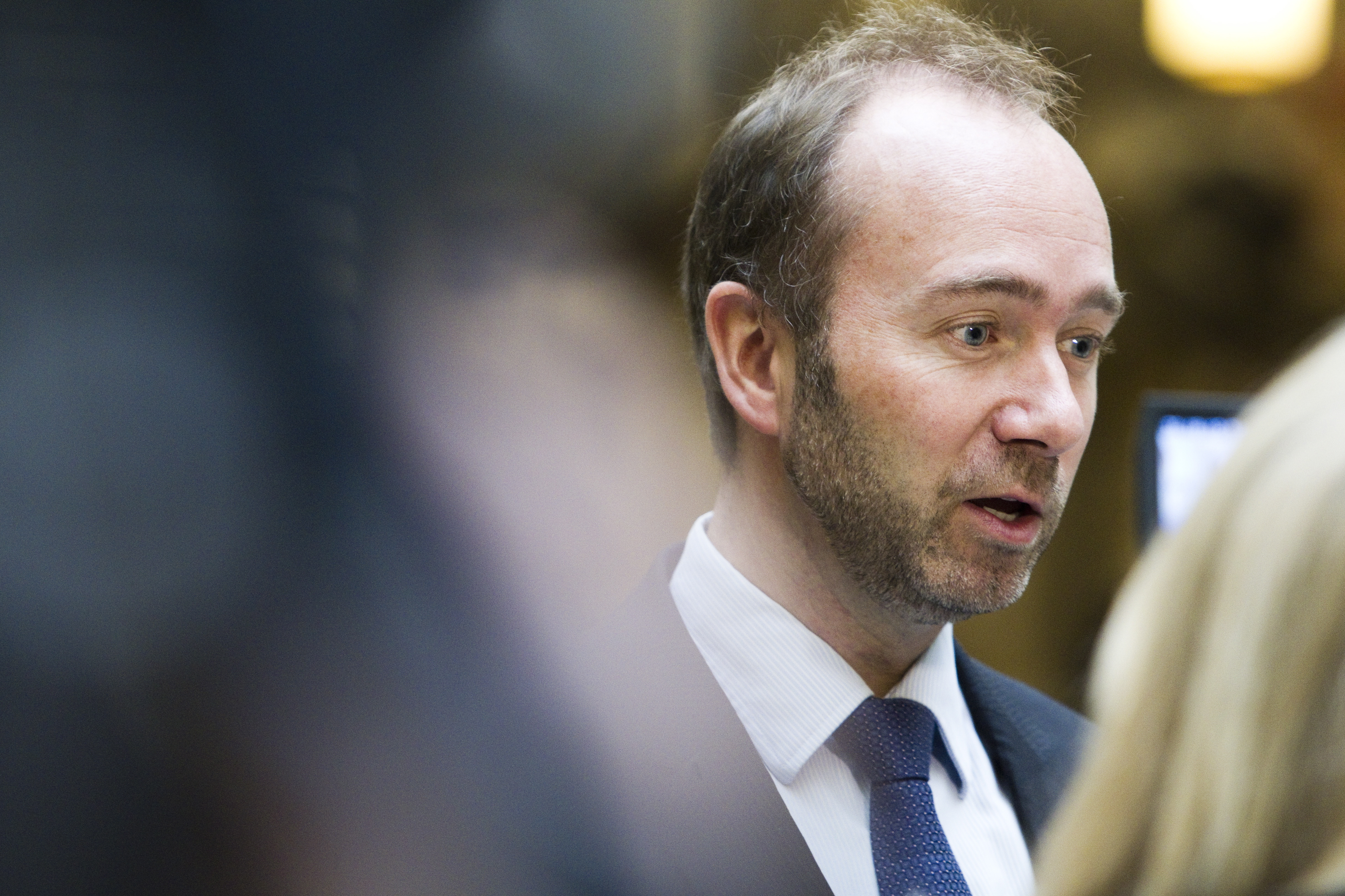 Norway's Trade Minister Trond Giske is seen in Oslo, Norway.