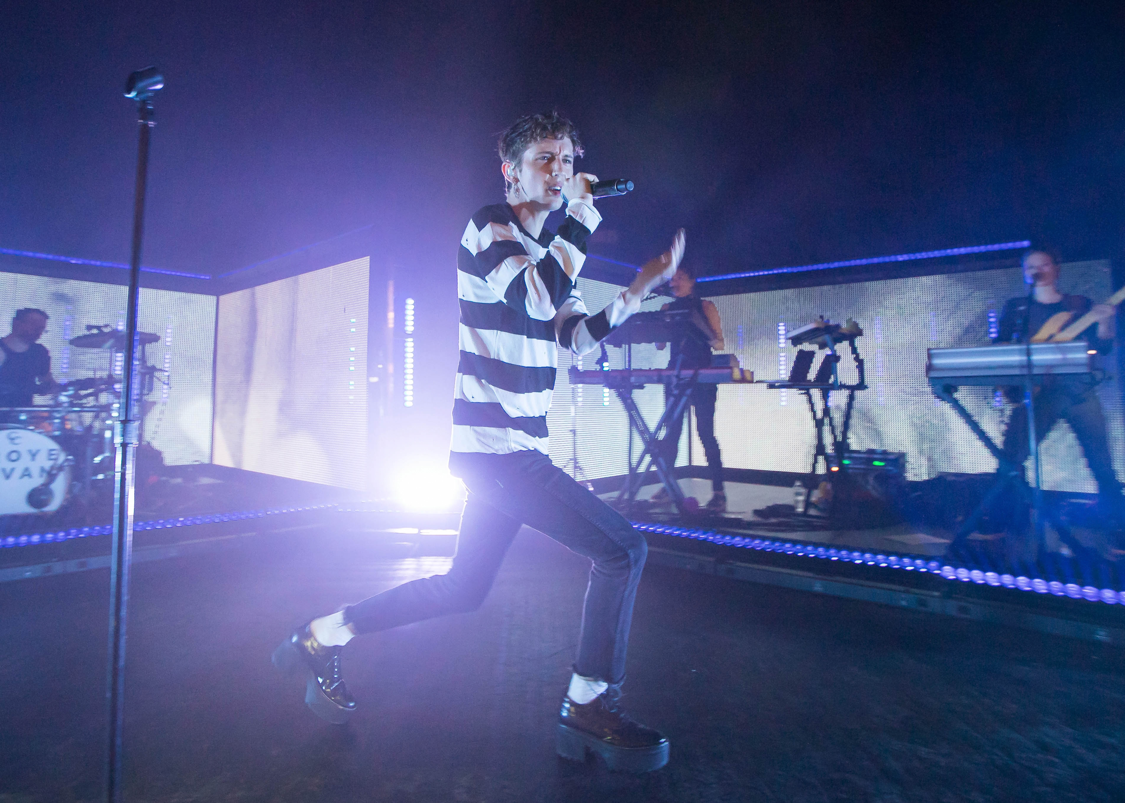 Troye Sivan performs in support of his Blue Neighbourhood Tour at The Fillmore on November 7, 2016 in Detroit, Michigan.