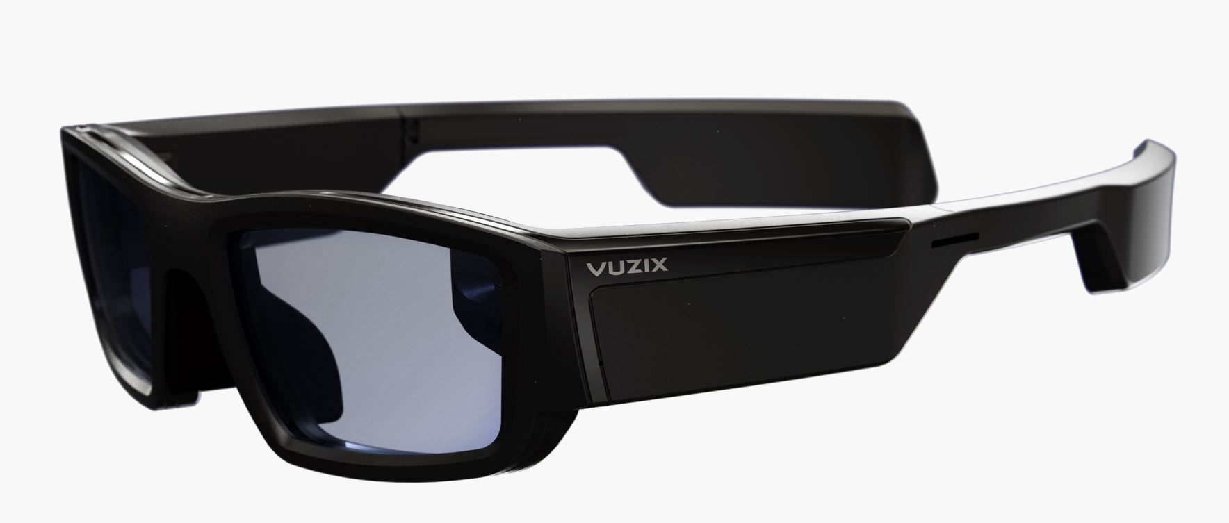 The Vuzix Blade smart glasses with Amazon Alexa
