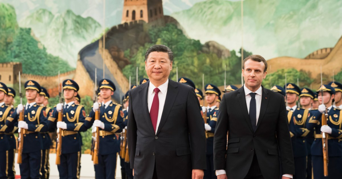 Why Emmanuel Macron Met With China S President Xi Jinping Time