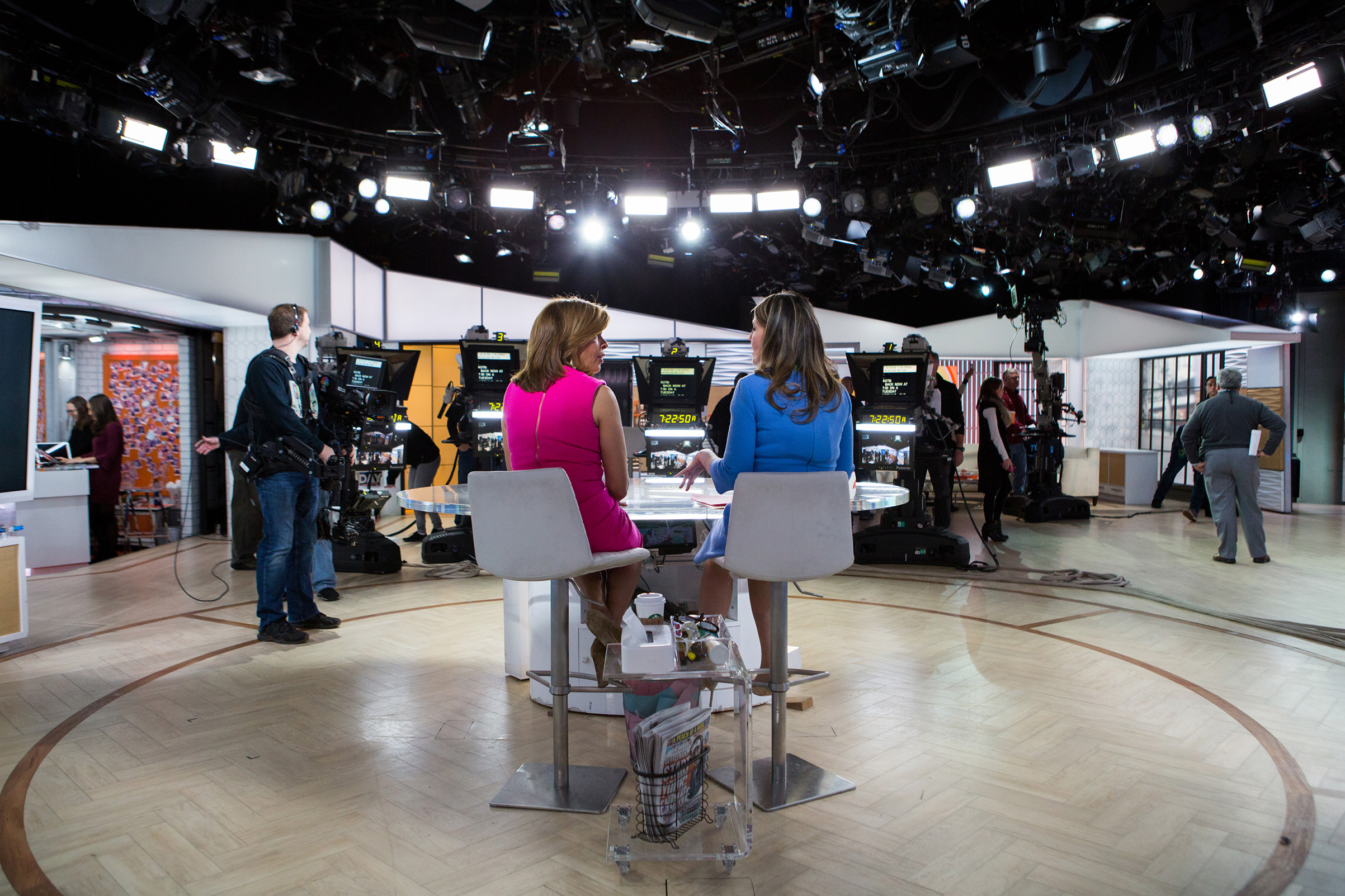 Savannah Guthrie and Hoda Kotb on Tuesday, January 2, 2018.