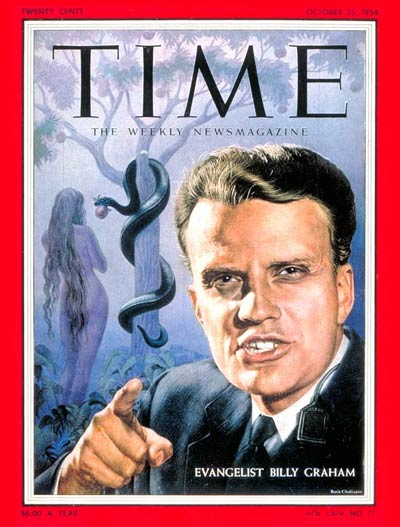 The Oct. 25, 1954, cover of TIME