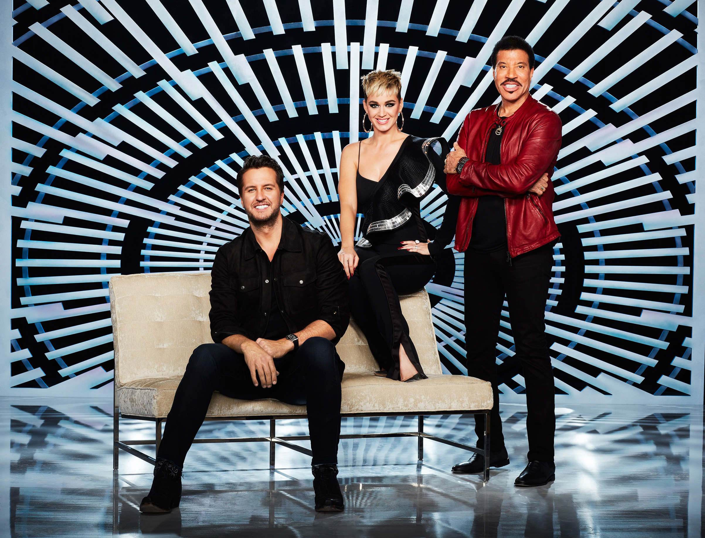 Luke Bryan, Katy Perry and Lionel Richie will counsel aspiring singers when American Idol returns on March 11 on ABC.