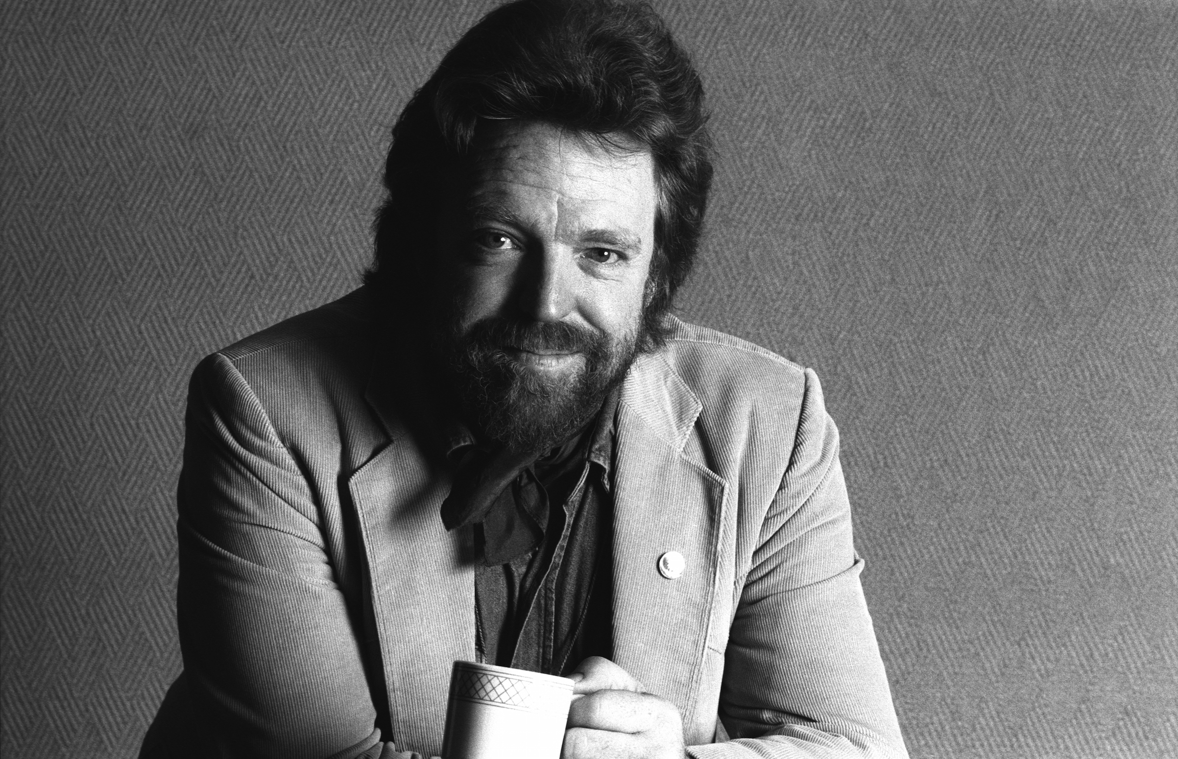 John Perry Barlow, Electronic Frontier Foundation/Berkman Center for Internet and Society at PC Forum in  1991 in Tucson, Ariz.