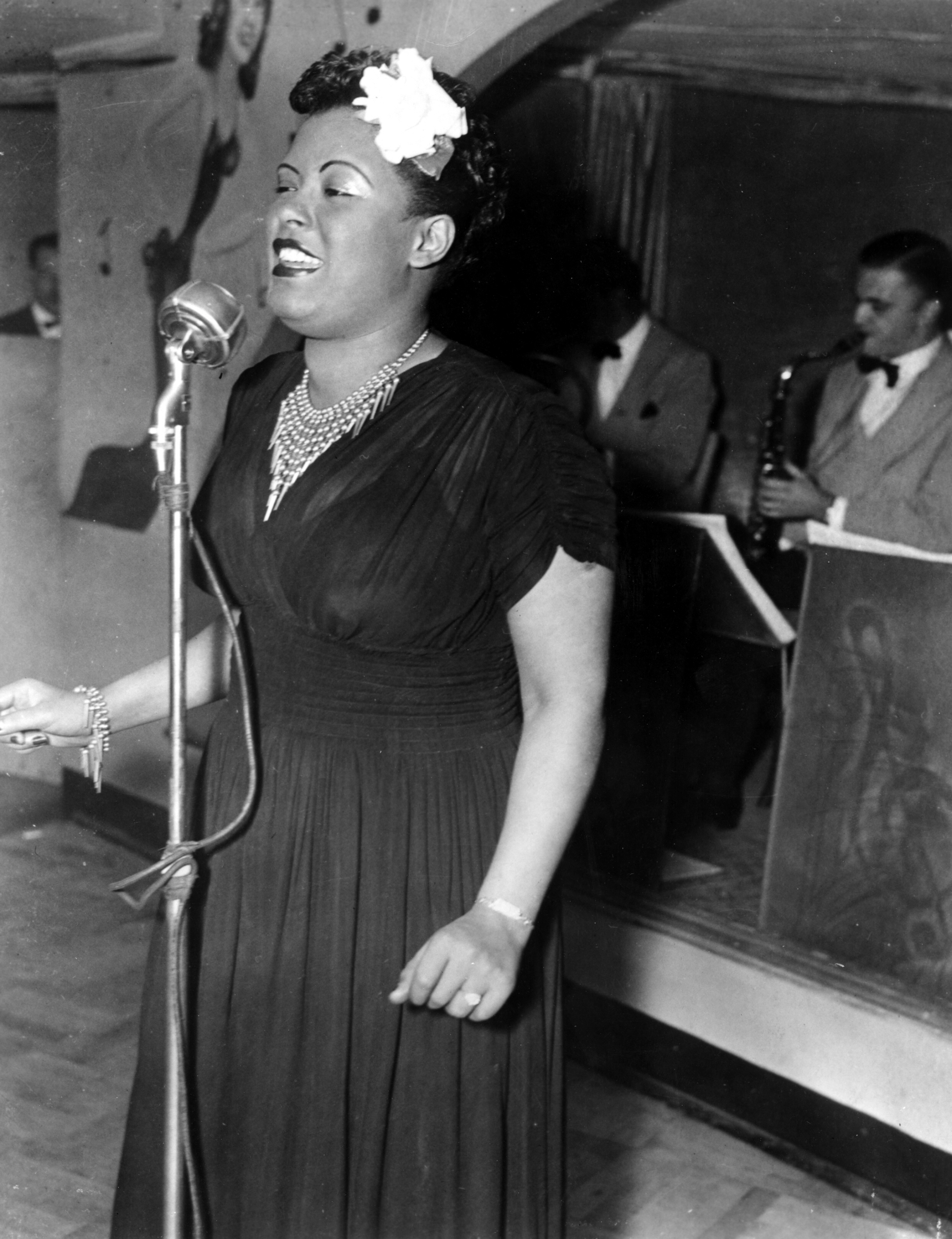 Billie Holiday circa 1940s