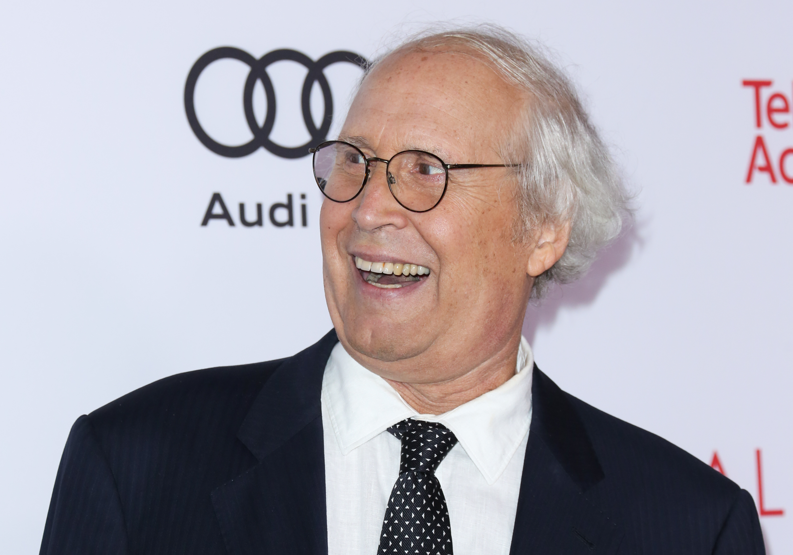 Actor Chevy Chase attends the Television Academy's 24th Hall Of Fame ceremony at The Saban Media Center on November 15, 2017 in North Hollywood, California.