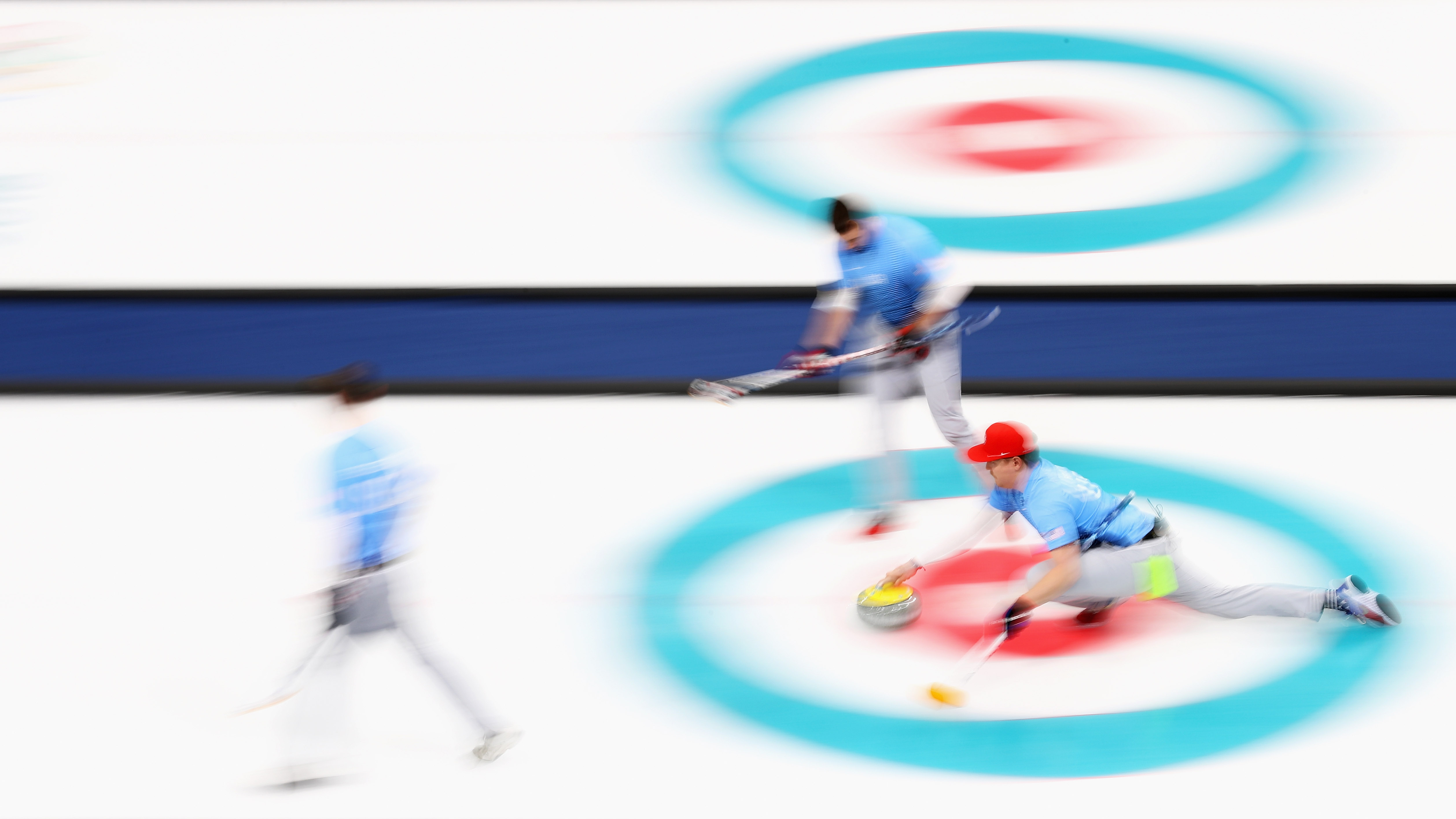 Team USA will go on to play Sweden for the curling gold medal after beating Canada.