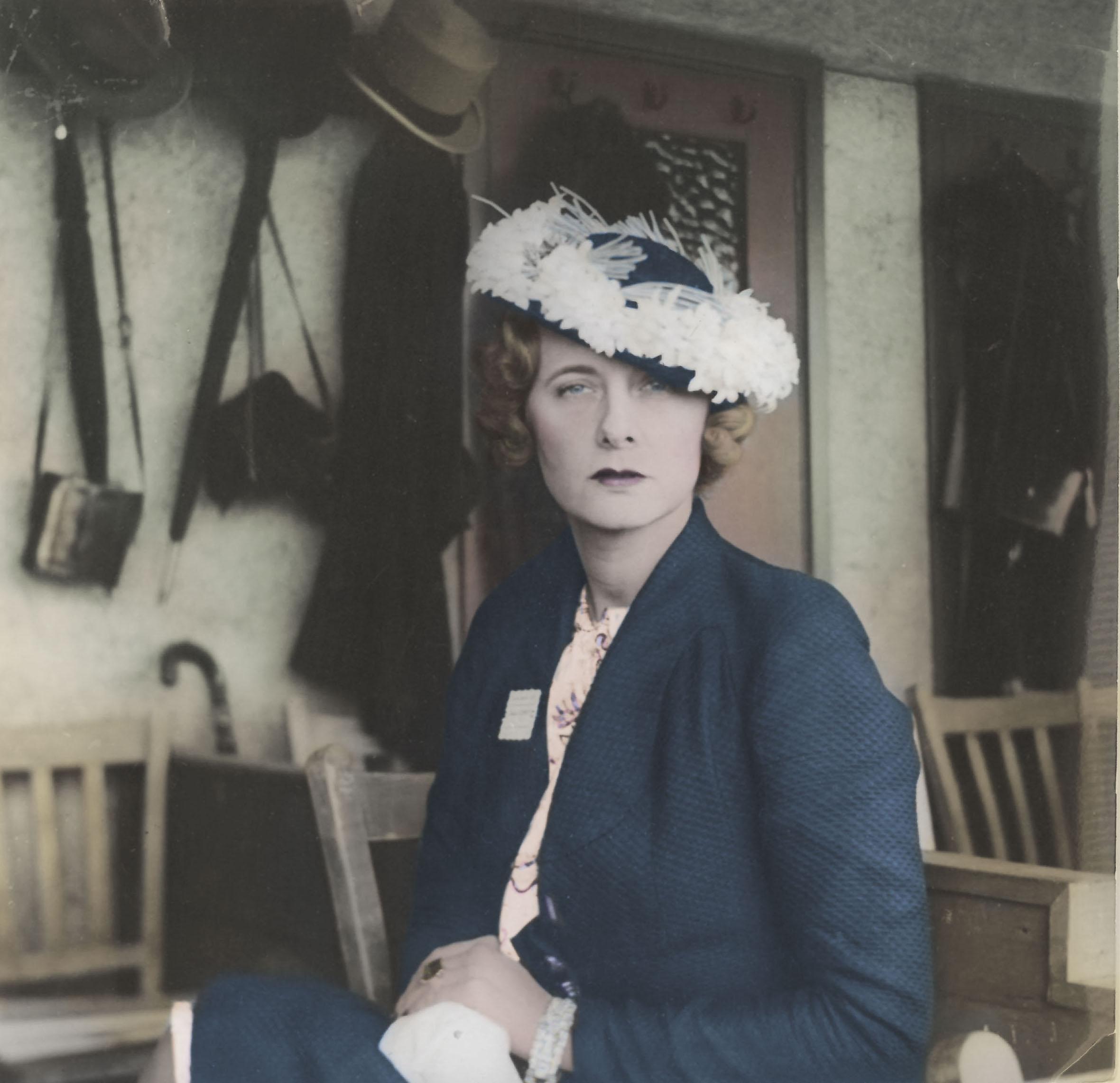 Doris Castlerosse taken in the 1930's