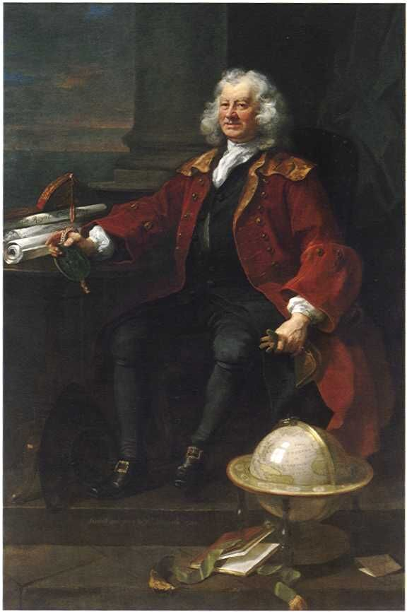 Thomas Coram, by William Hogarth, 1740