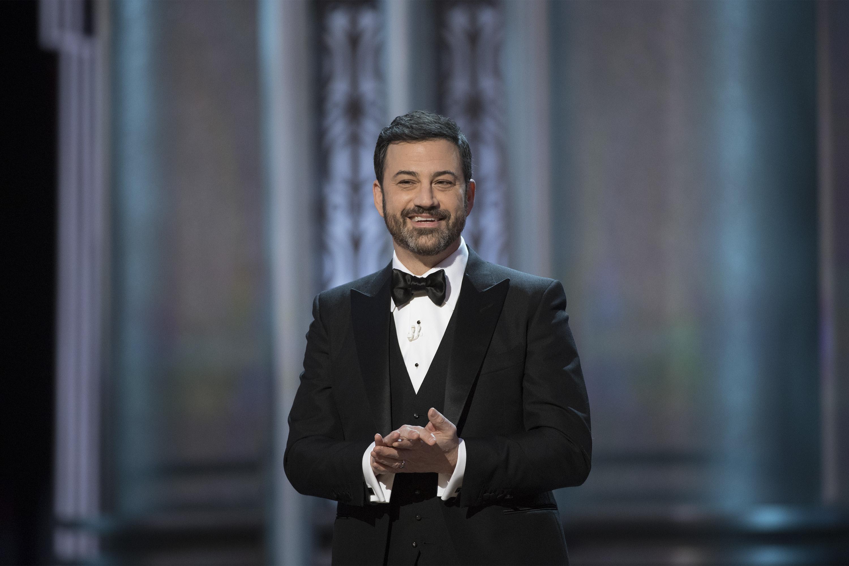 Jimmy Kimmel hosts the 89th Oscars on Feb. 26, 2017.