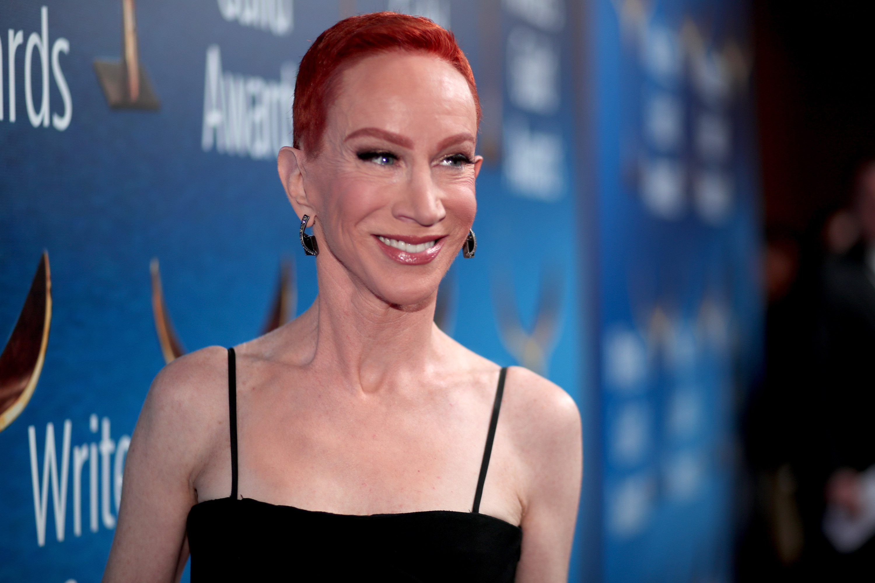 Kathy Griffin attends the 2018 Writers Guild Awards L.A. Ceremony at The Beverly Hilton Hotel on February 11, 2018 in Beverly Hills, California.