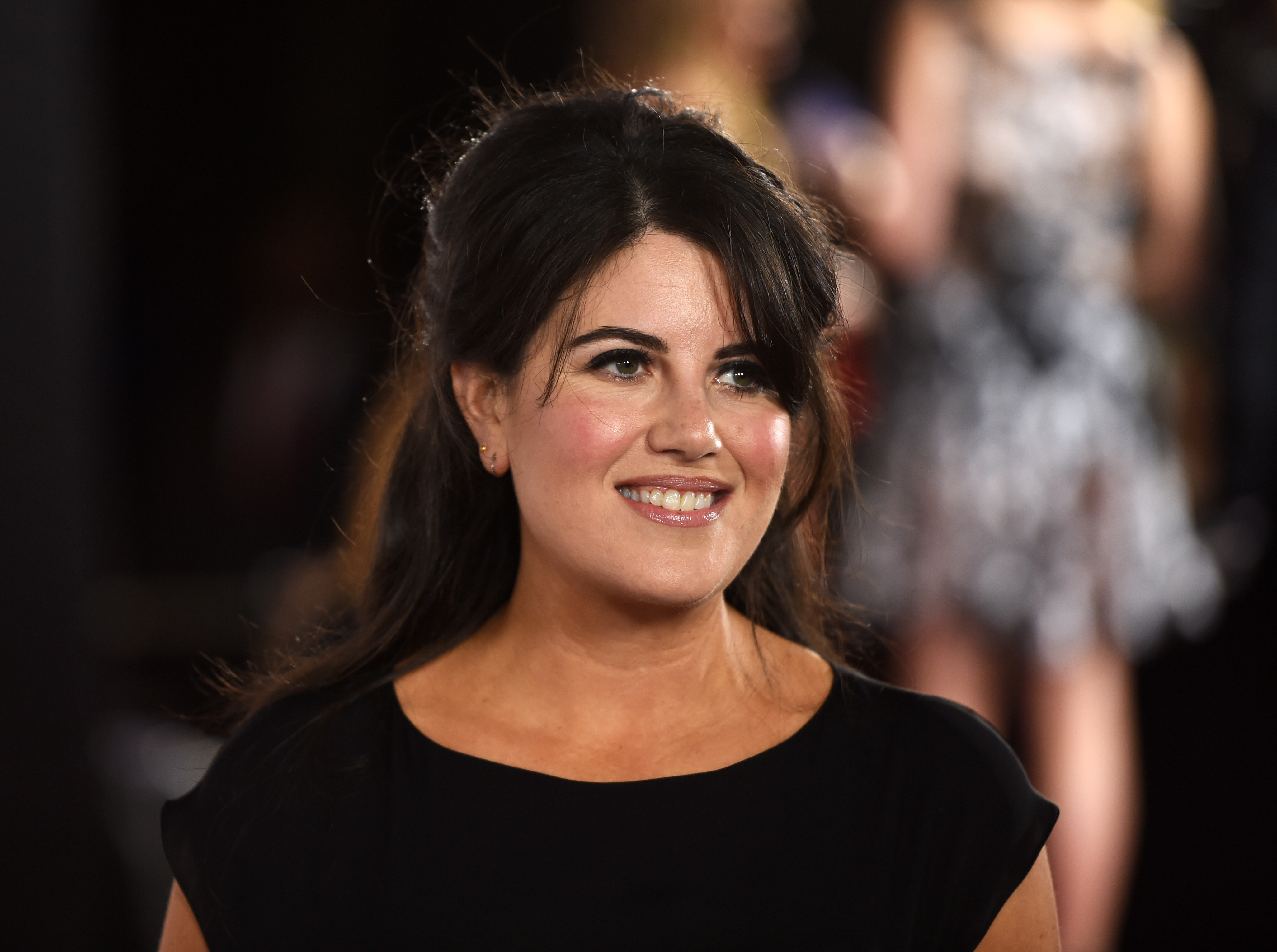 Monica Lewinsky arrives at the TrevorLIVE Los Angeles benefit event at the Hollywood Palladium on December 7, 2014 in Los Angeles, California.