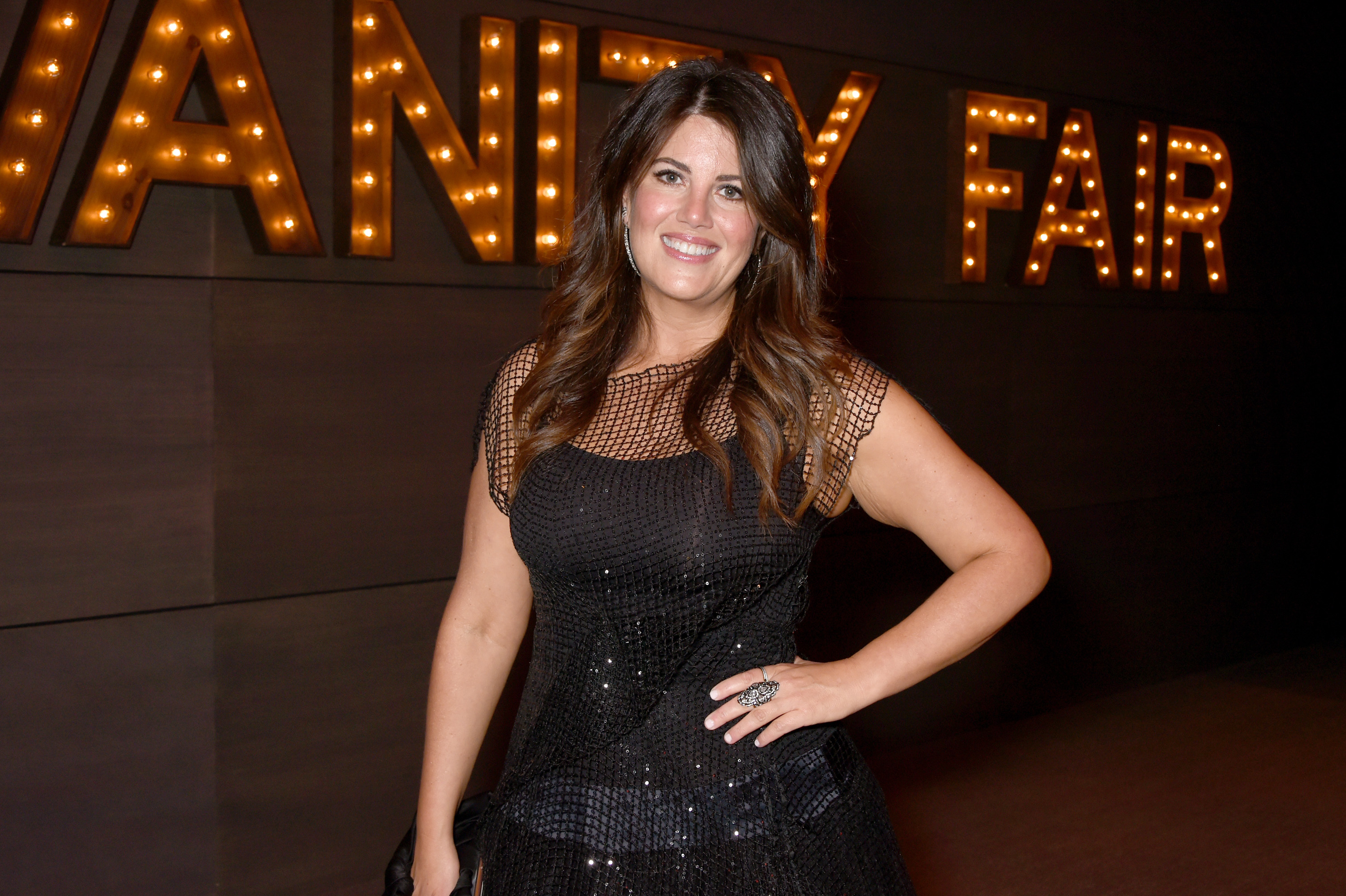 Writer Monica Lewinsky attends the 2017 Vanity Fair Oscar Party hosted by Graydon Carter at Wallis Annenberg Center for the Performing Arts on February 26, 2017 in Beverly Hills, California. (Photo by Dave M. Benett/VF17/WireImage)