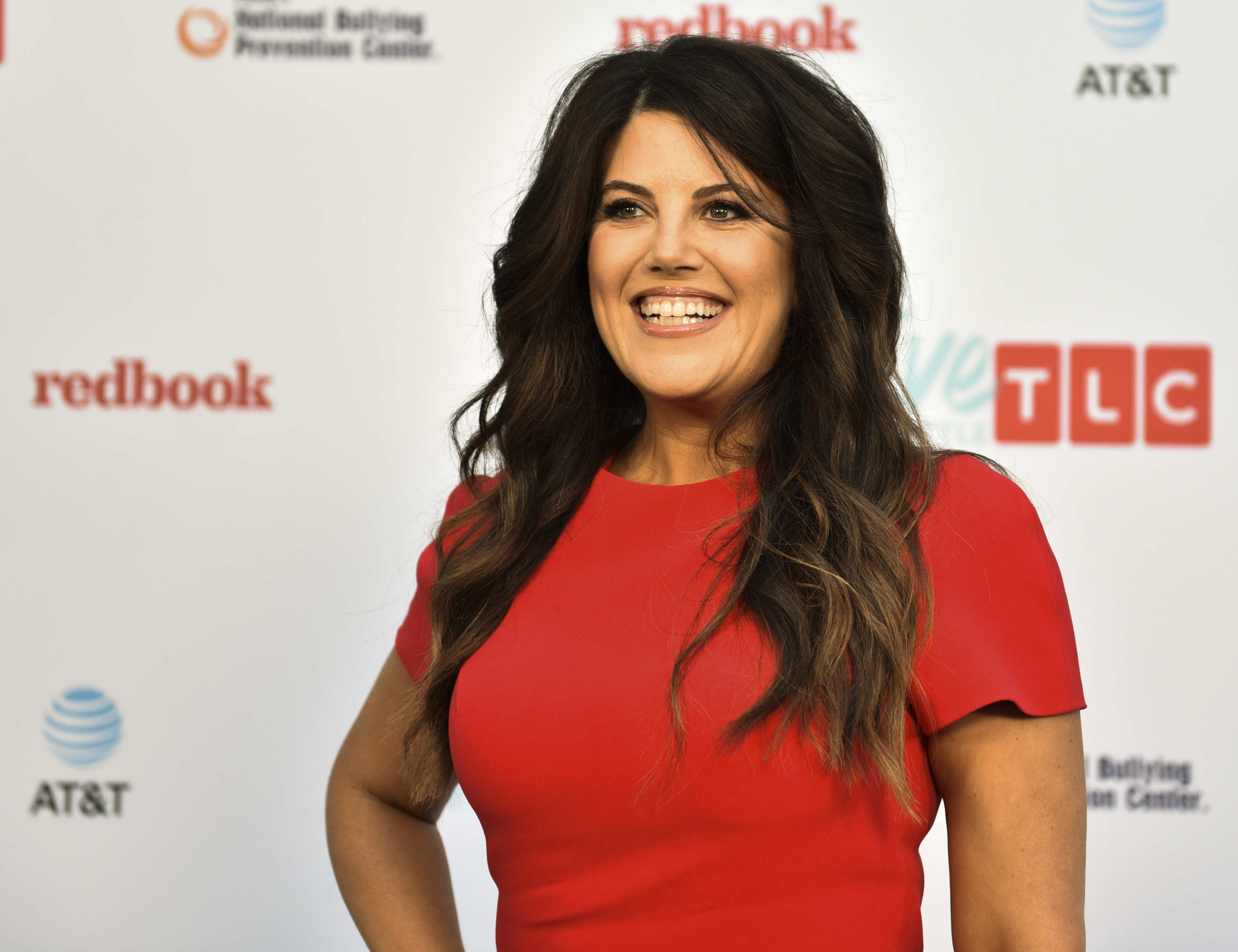 Monica Lewinsky attends TLC's Give a Little Awards at NeueHouse Hollywood on September 27, 2017 in Los Angeles, California.