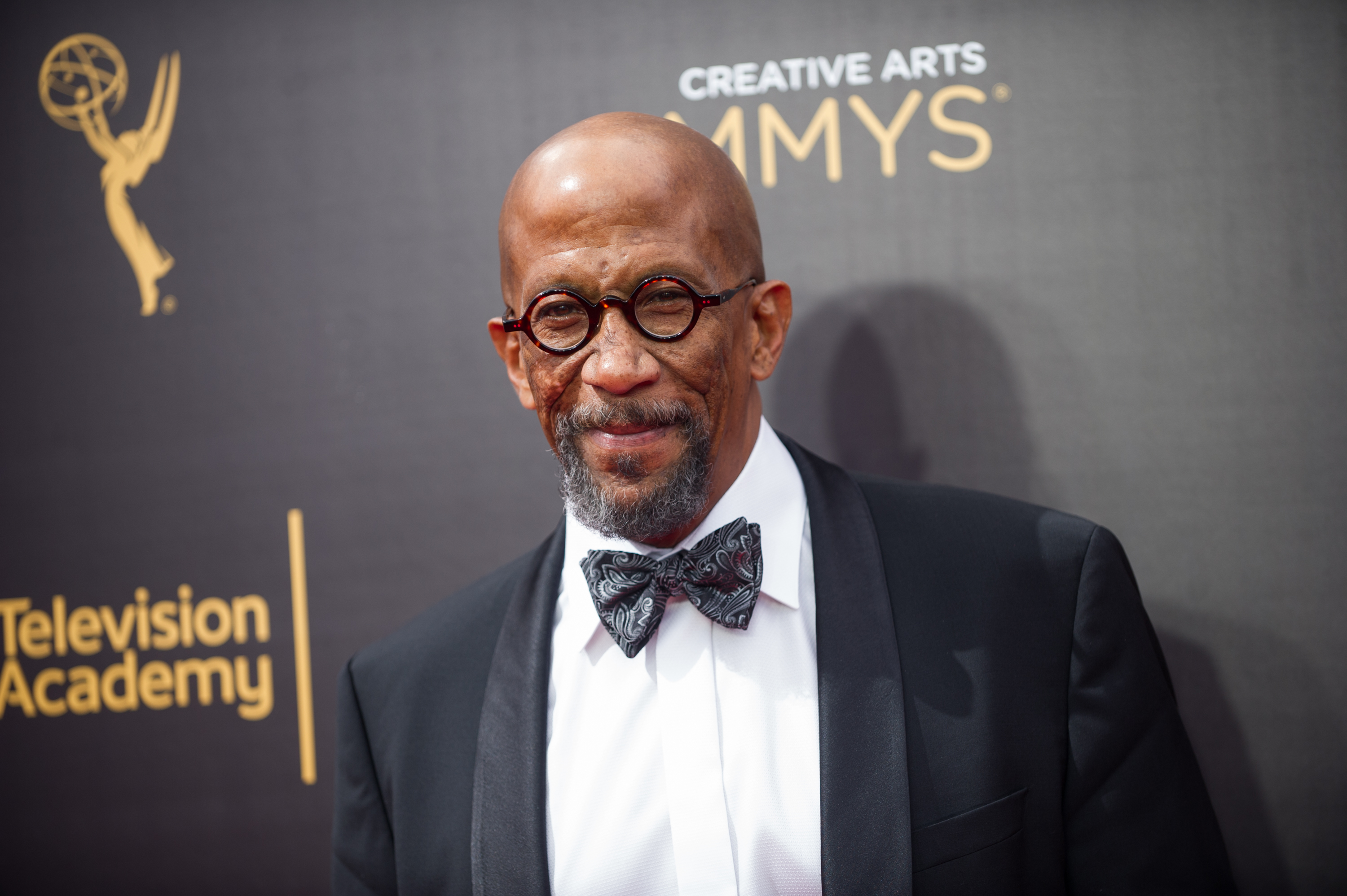 Actor Reg E. Cathey arrives at the Creative Arts Emmy Awards at Microsoft Theater on September 10, 2016 in Los Angeles, California.