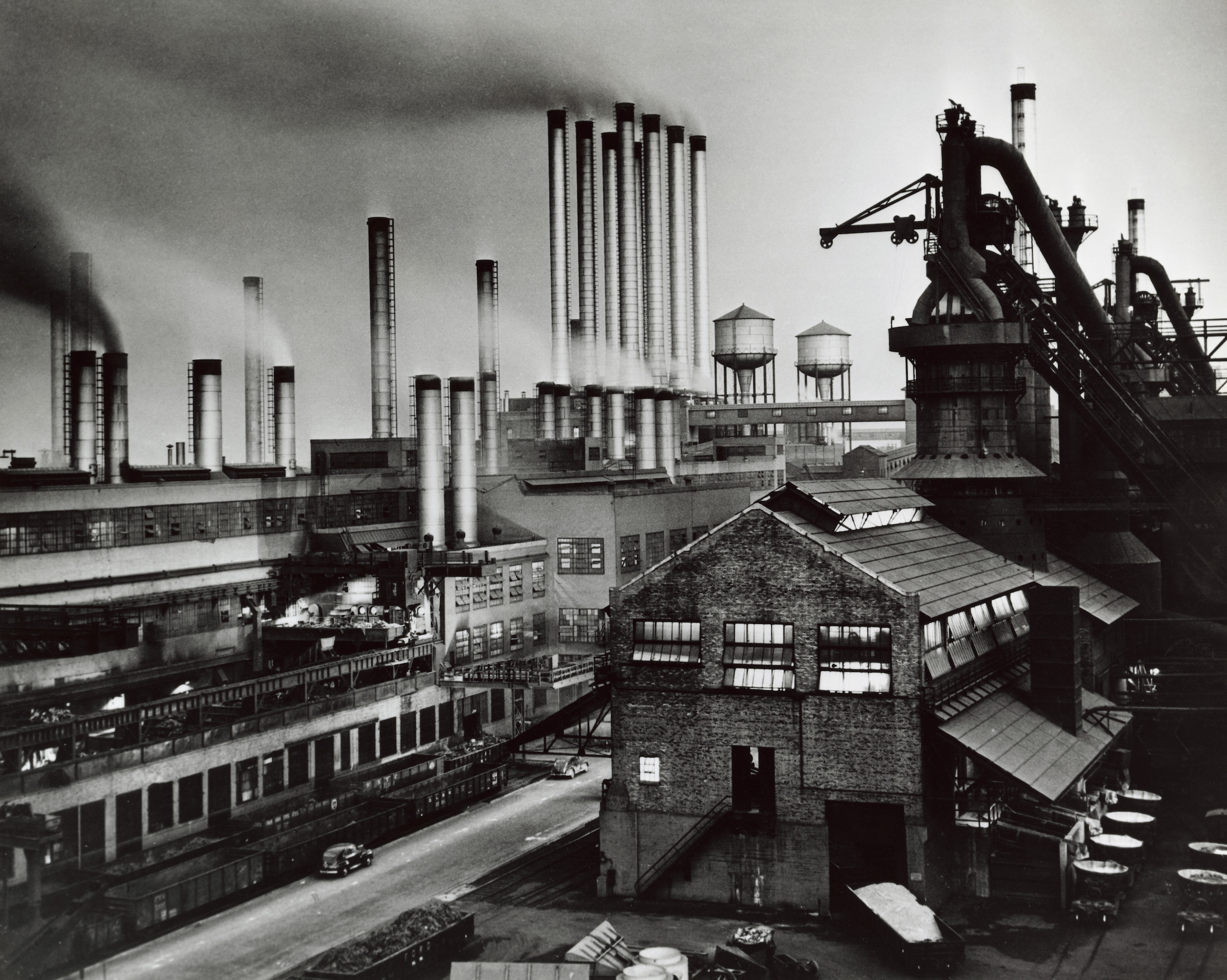 High angle view of the River Rouge Plant, Ford Motor Company, Dearborn, Mich. Undated.
