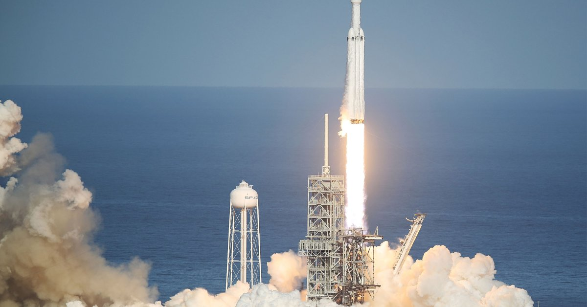 Watch Live Video of the Tesla Elon Musk Launched Into ...