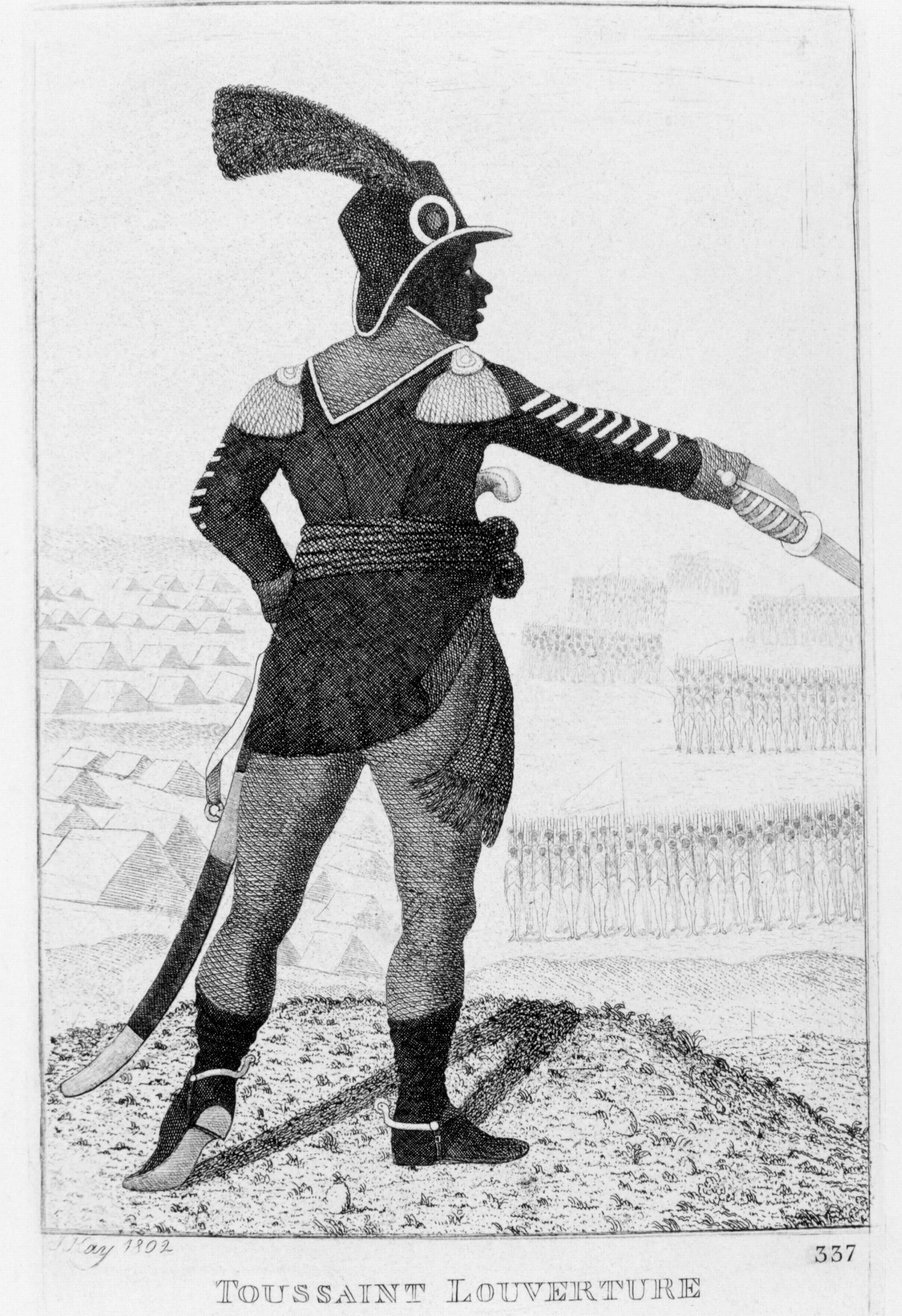 Haitian revolutionary leader Toussaint l'Ouverture.
