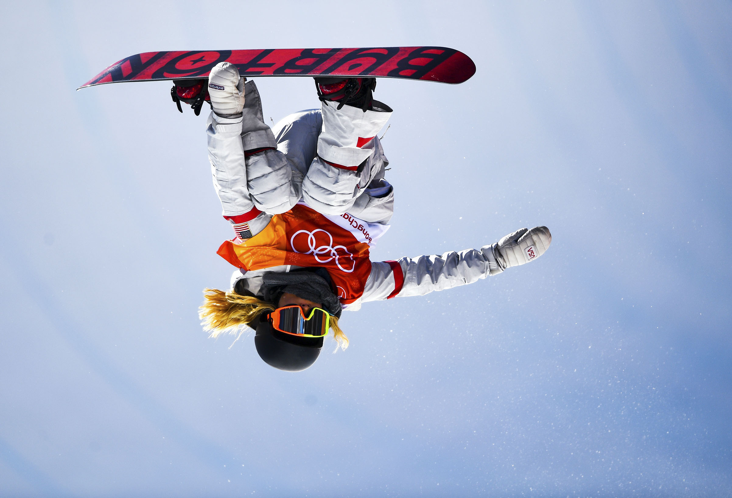 American Chloe Kim soars to her halfpipe snowboard gold on Feb. 13