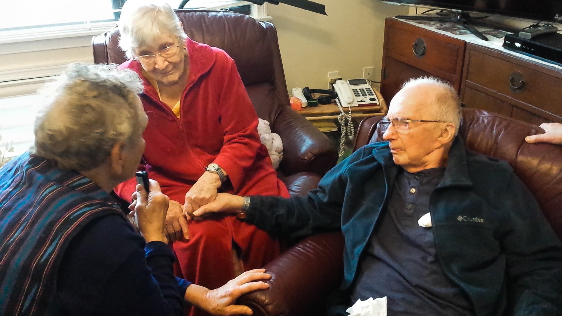 A still image from Sher and Rob Safran's documentary about Sher's parents, Charlie and Francie Emerick of Portland, Ore., who exercised Oregon's Death with Dignity option — together.