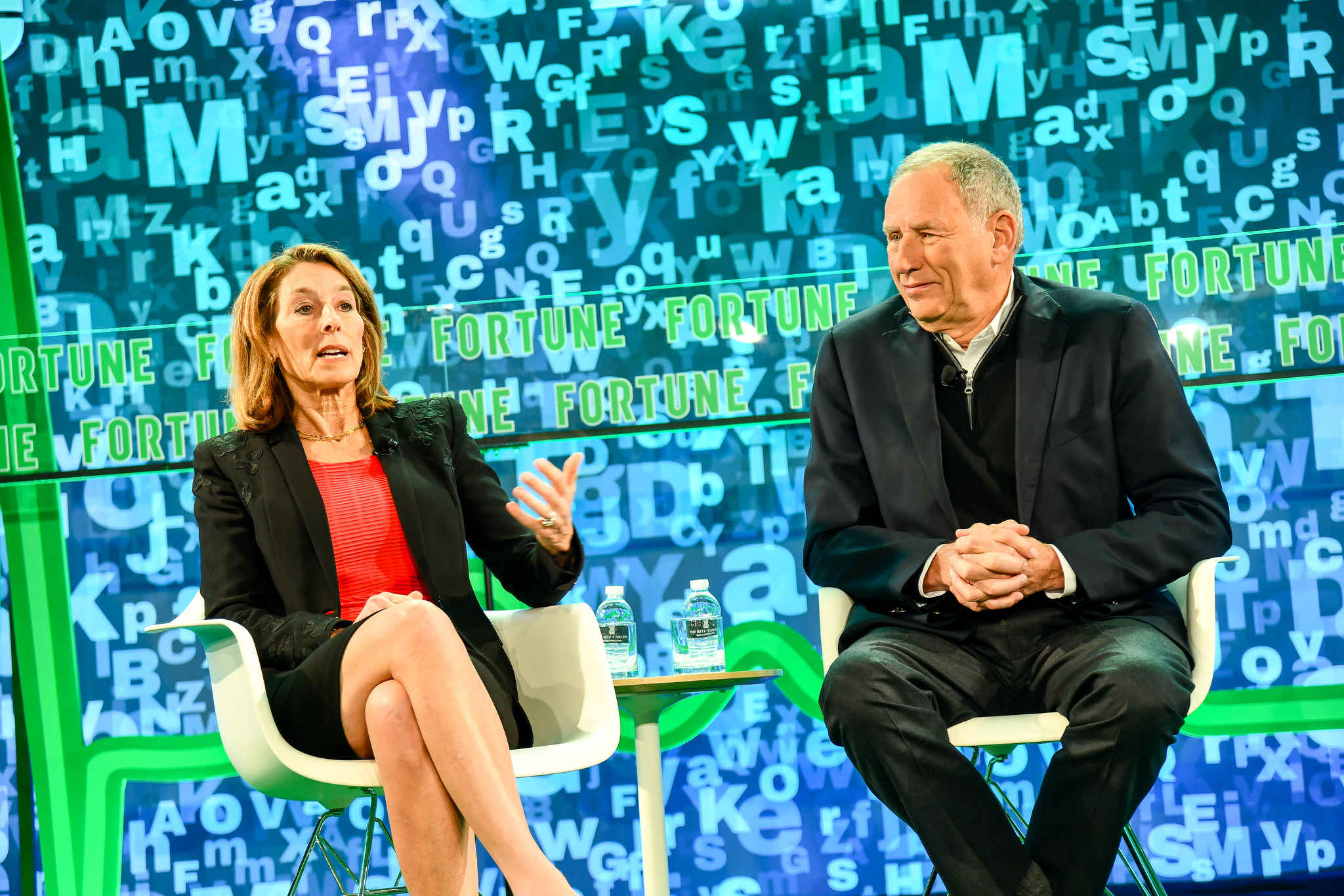 Dr. Toby Cosgrove, Former President and CEO, Cleveland Clinic and Dr. Laurie Glimcher, President and CEO, Dana-Farber Cancer Institute at Fortune Brainstorm Health