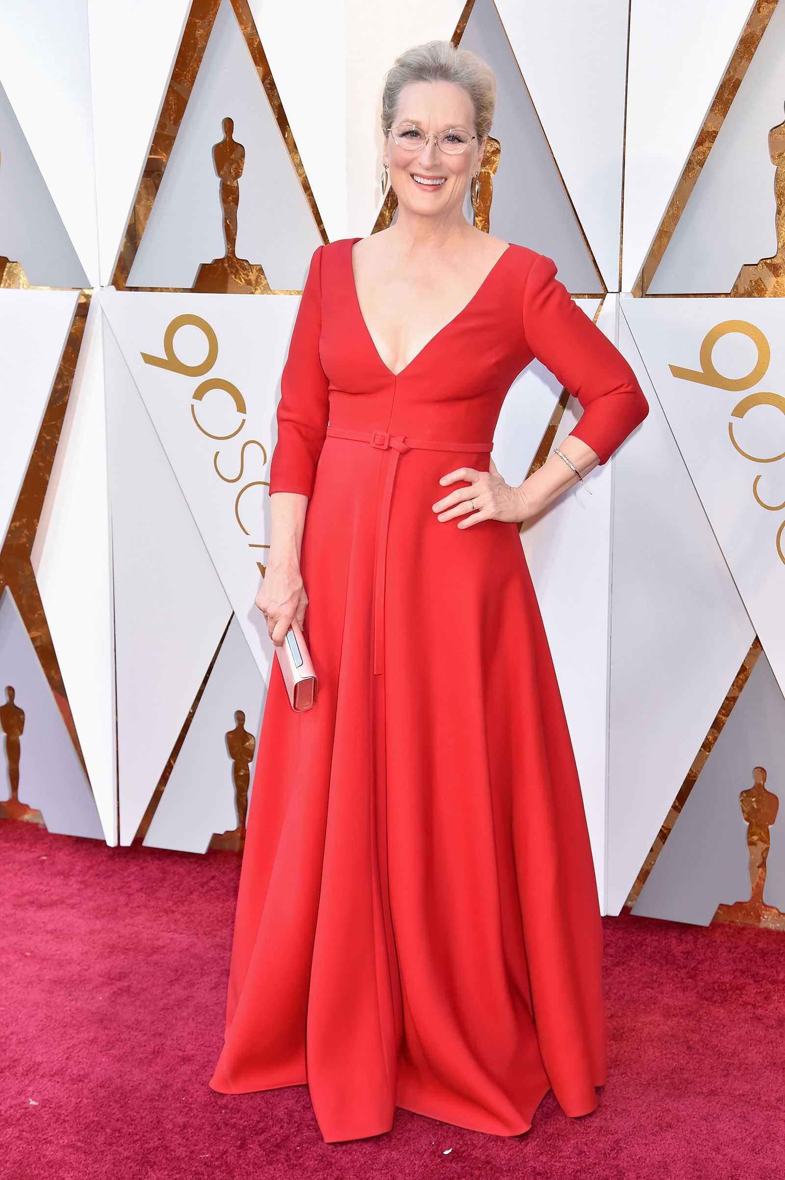 Meryl Streep attends the 90th Annual Academy Awards at Hollywood & Highland Center on March 4.