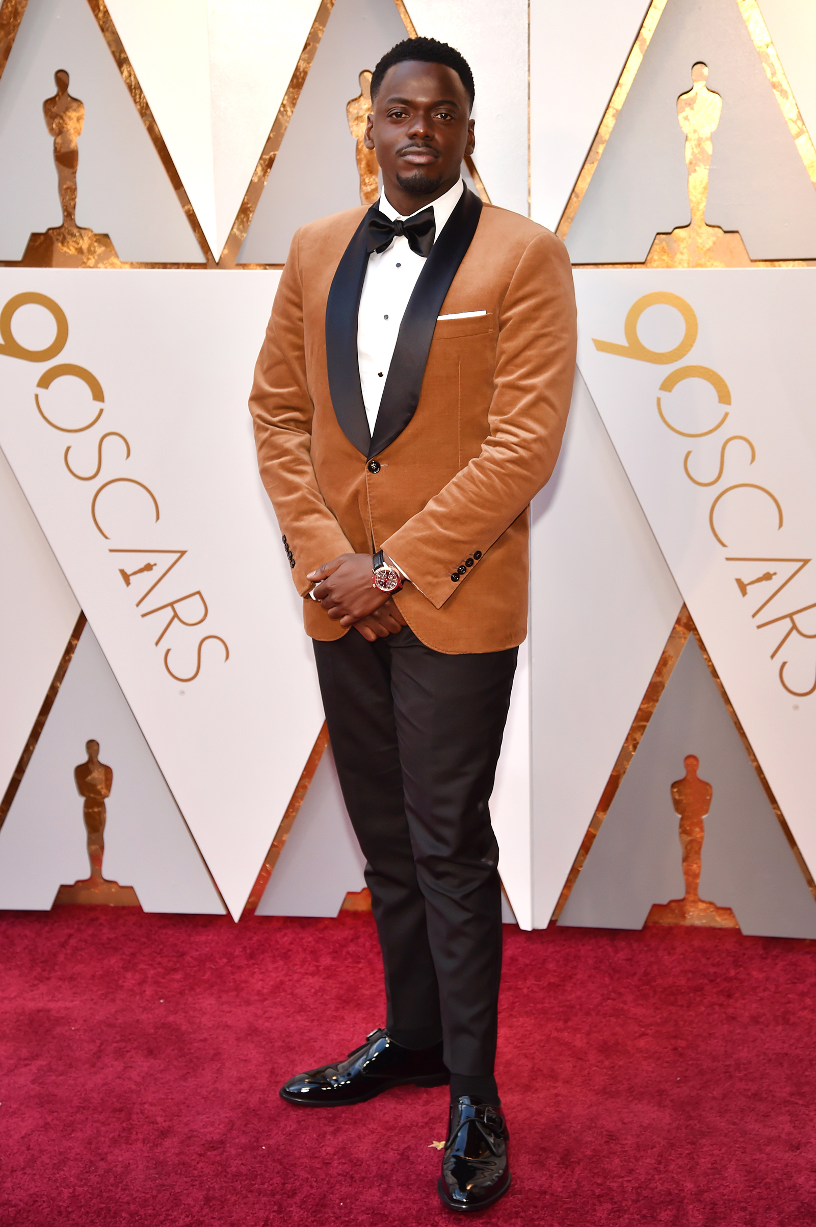 Daniel Kaluuya attends the 90th Annual Academy Awards at Hollywood & Highland Center on March 4.